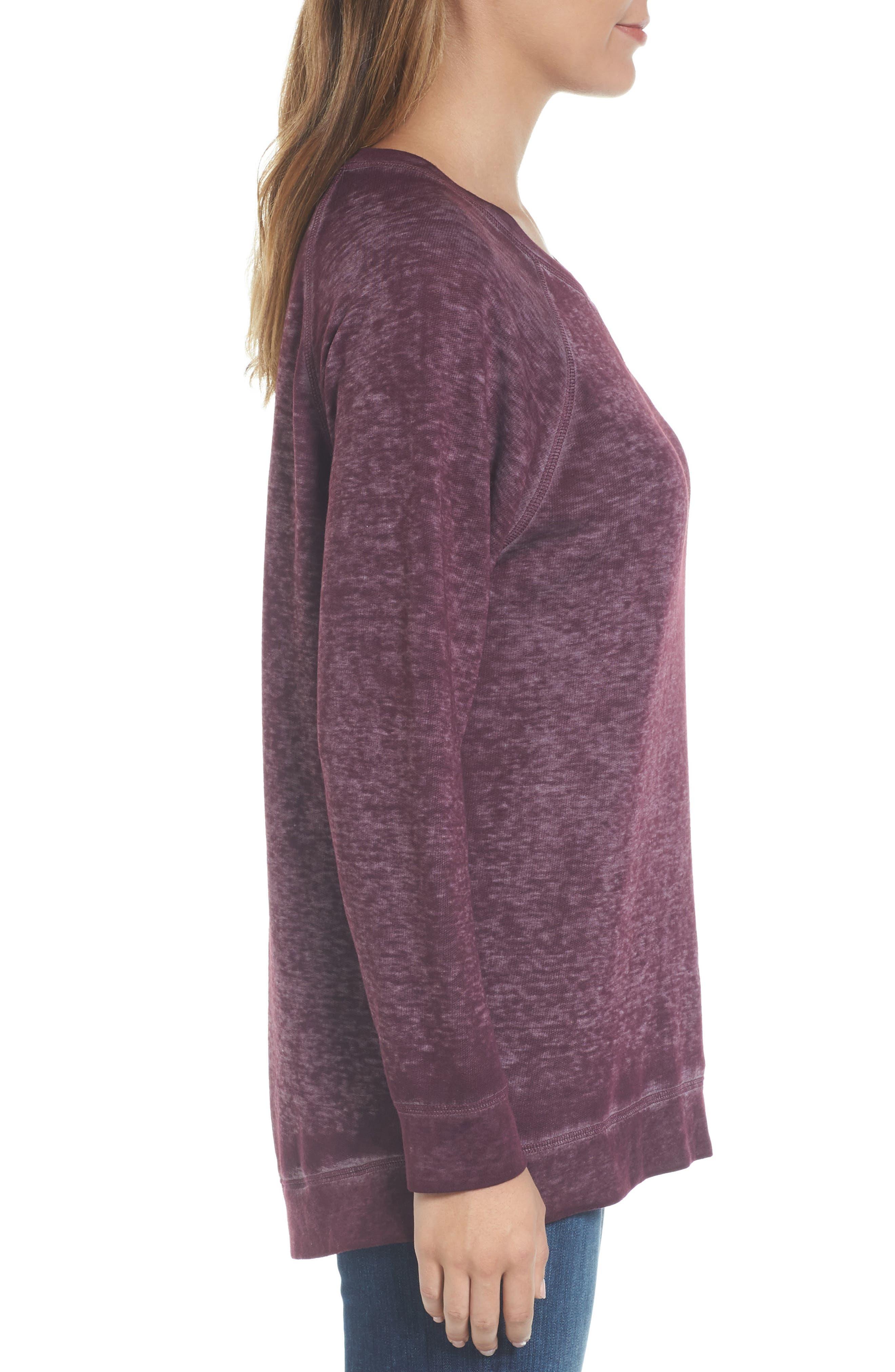Burnout Sweatshirt,                             Alternate thumbnail 65, color,