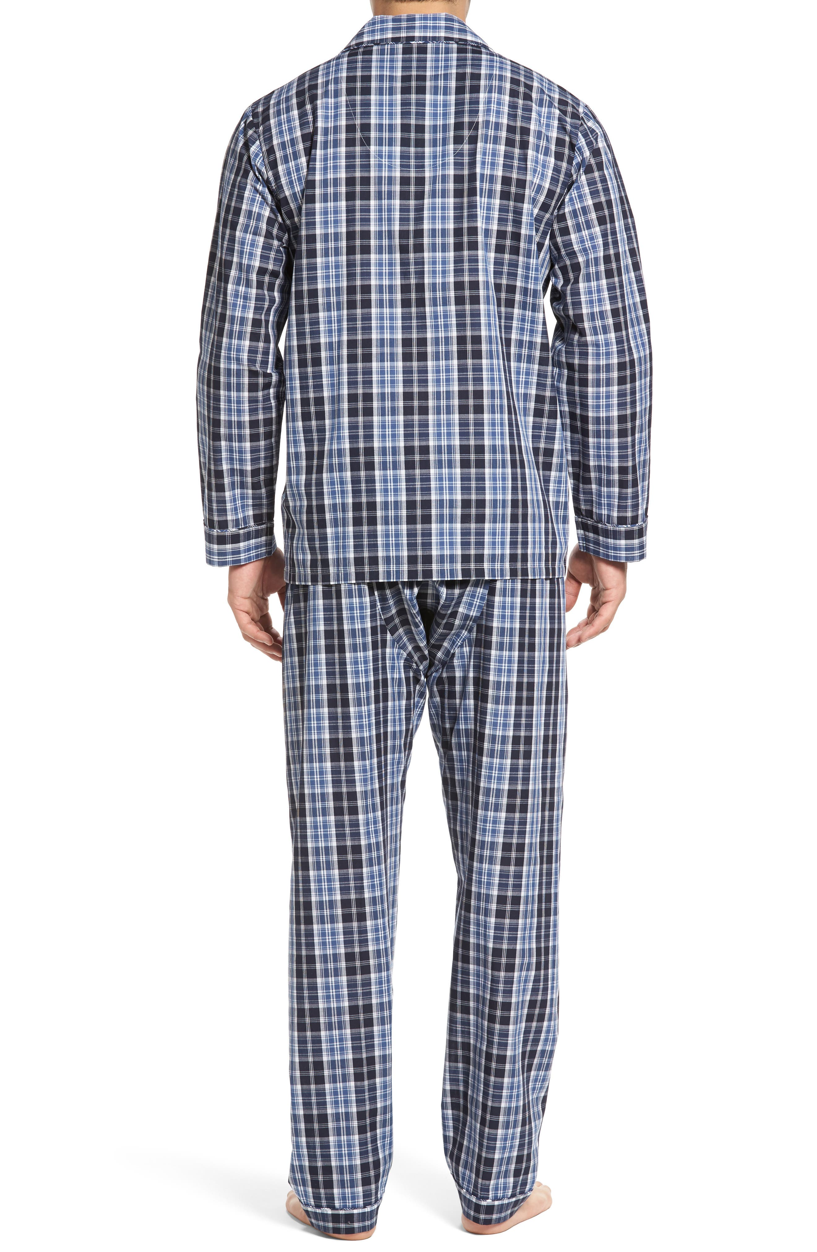 'Ryden' Cotton Blend Pajamas,                             Alternate thumbnail 2, color,                             001