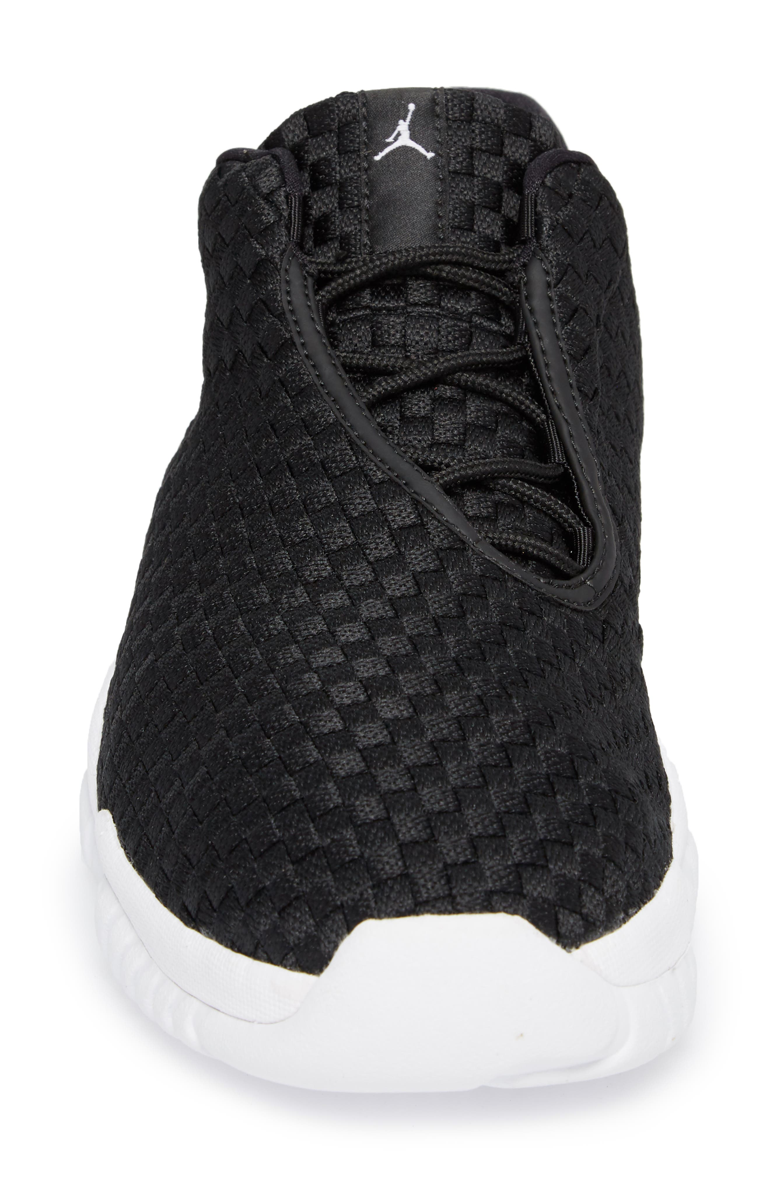 Air Jordan Future Woven Sneaker,                             Alternate thumbnail 4, color,                             002