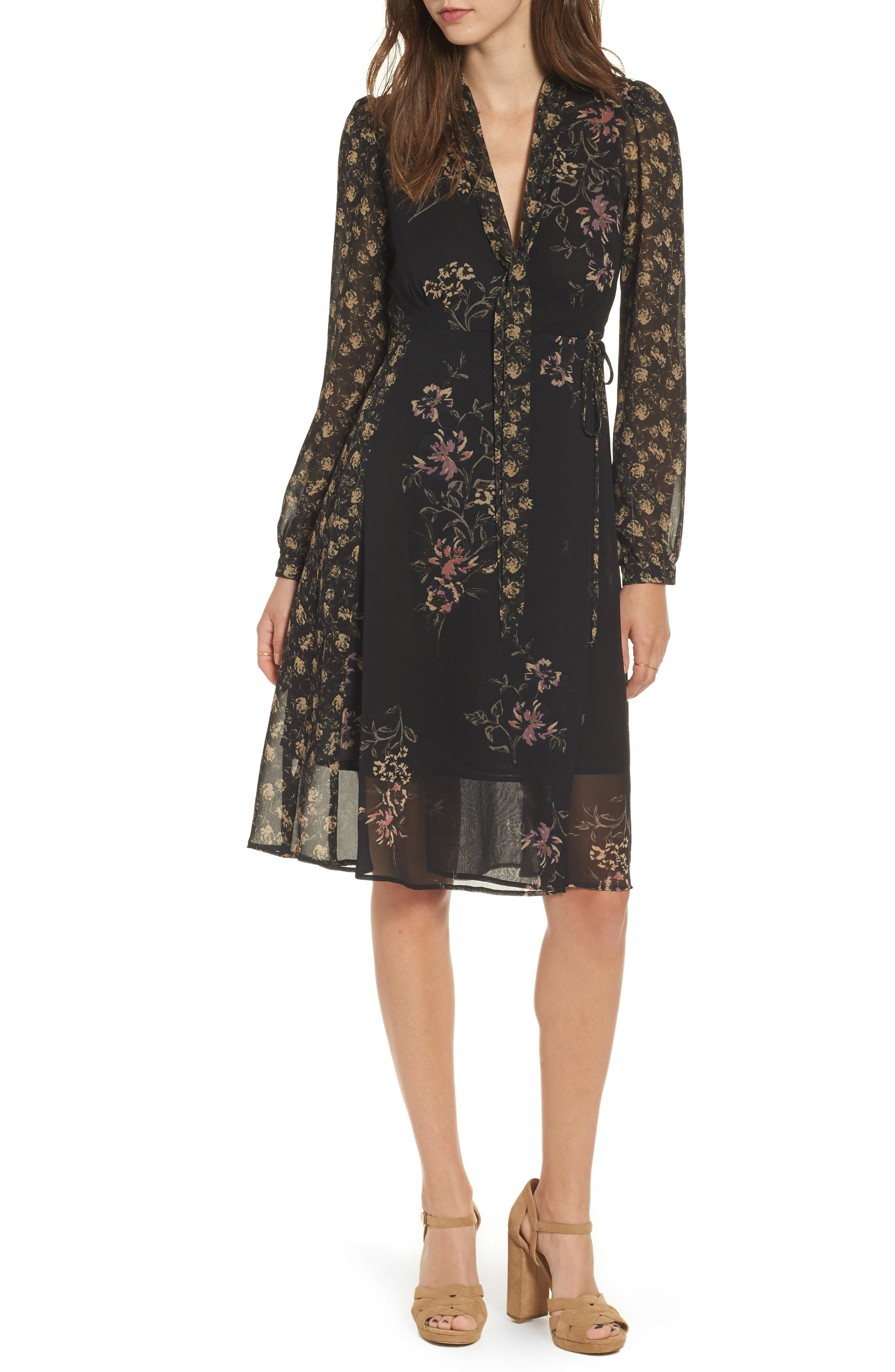 Tyra A-Line Dress,                             Main thumbnail 1, color,