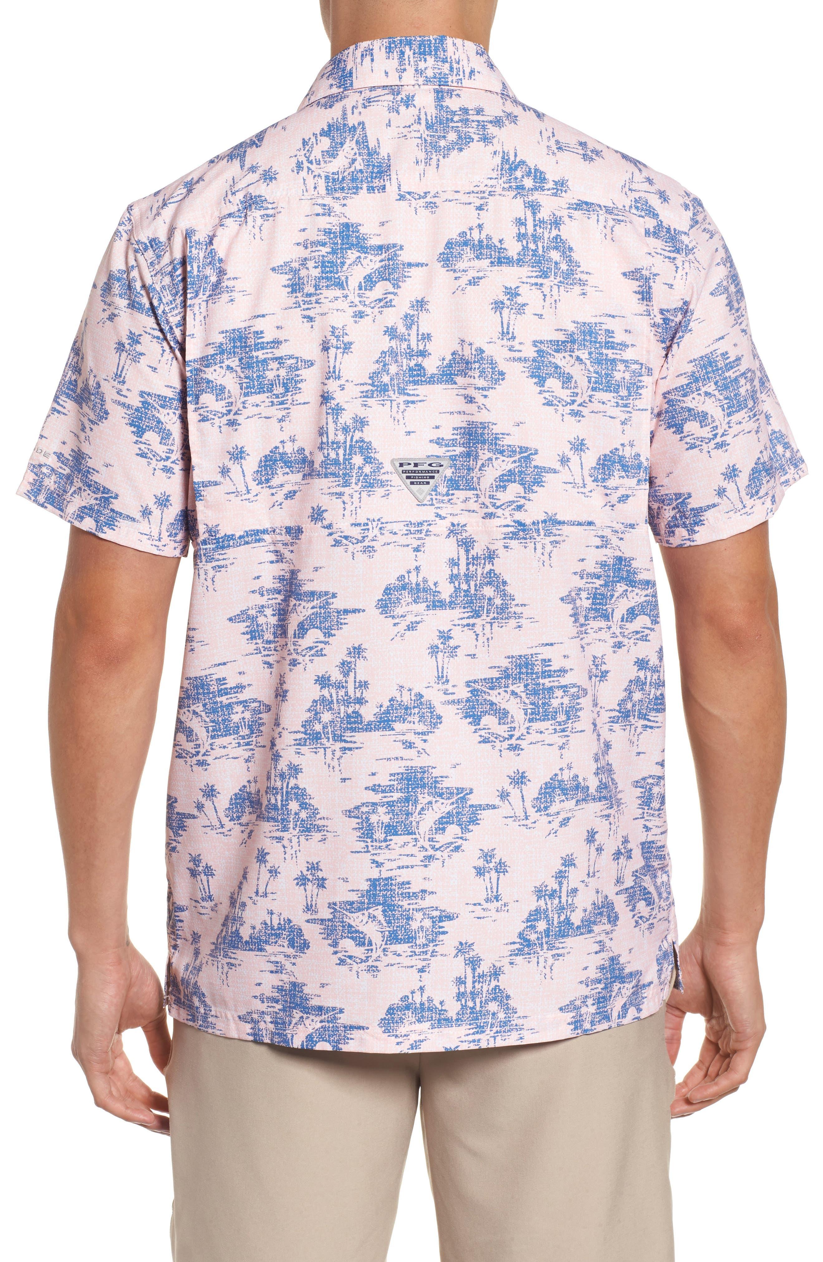 Super Slack Tide Patterned Woven Shirt,                             Alternate thumbnail 10, color,