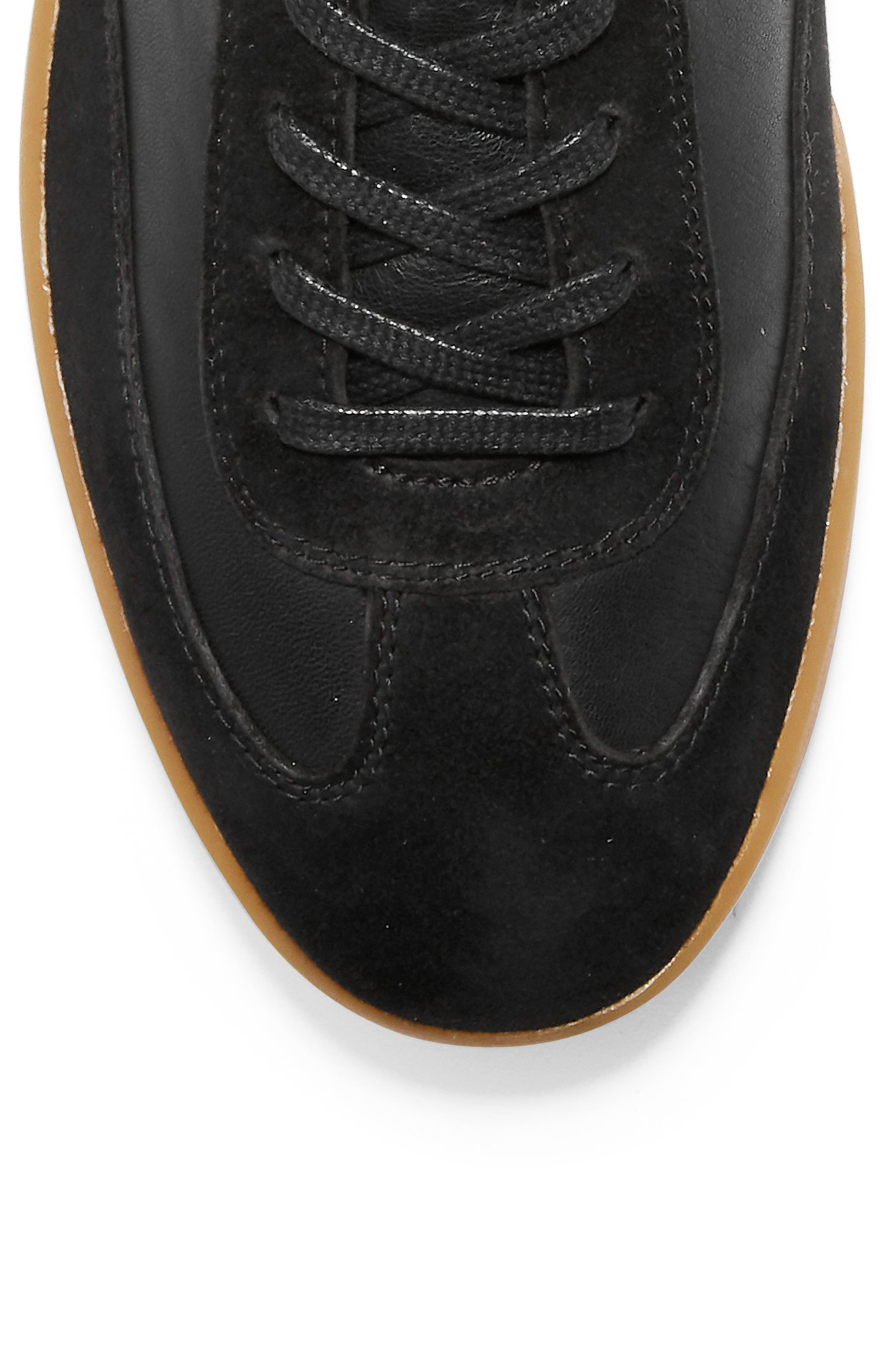 GrandPro Turf Sneaker,                             Alternate thumbnail 7, color,                             BLACK LEATHER/ SUEDE