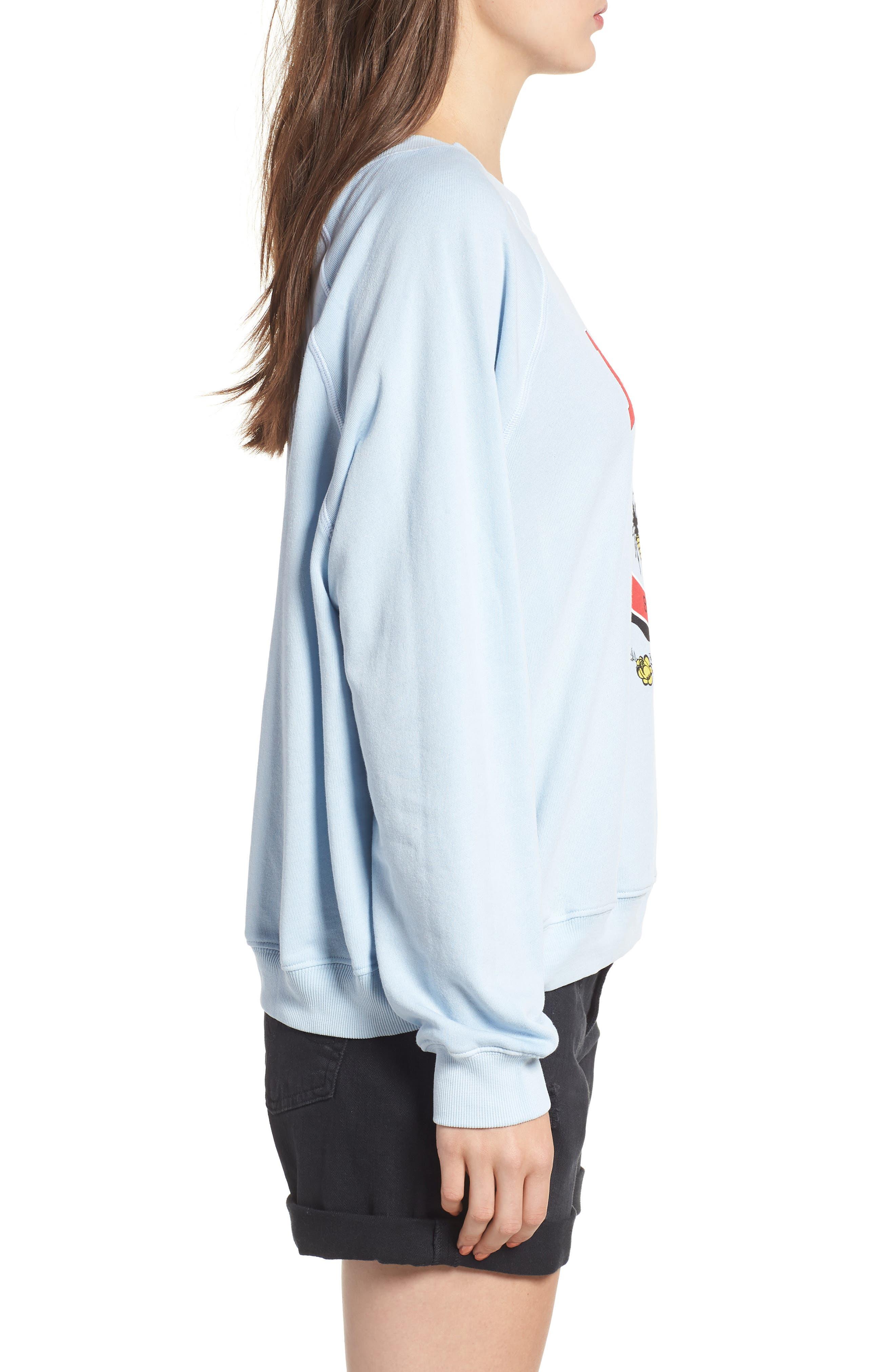 Malibu Crest Sommers Sweatshirt,                             Alternate thumbnail 3, color,                             400