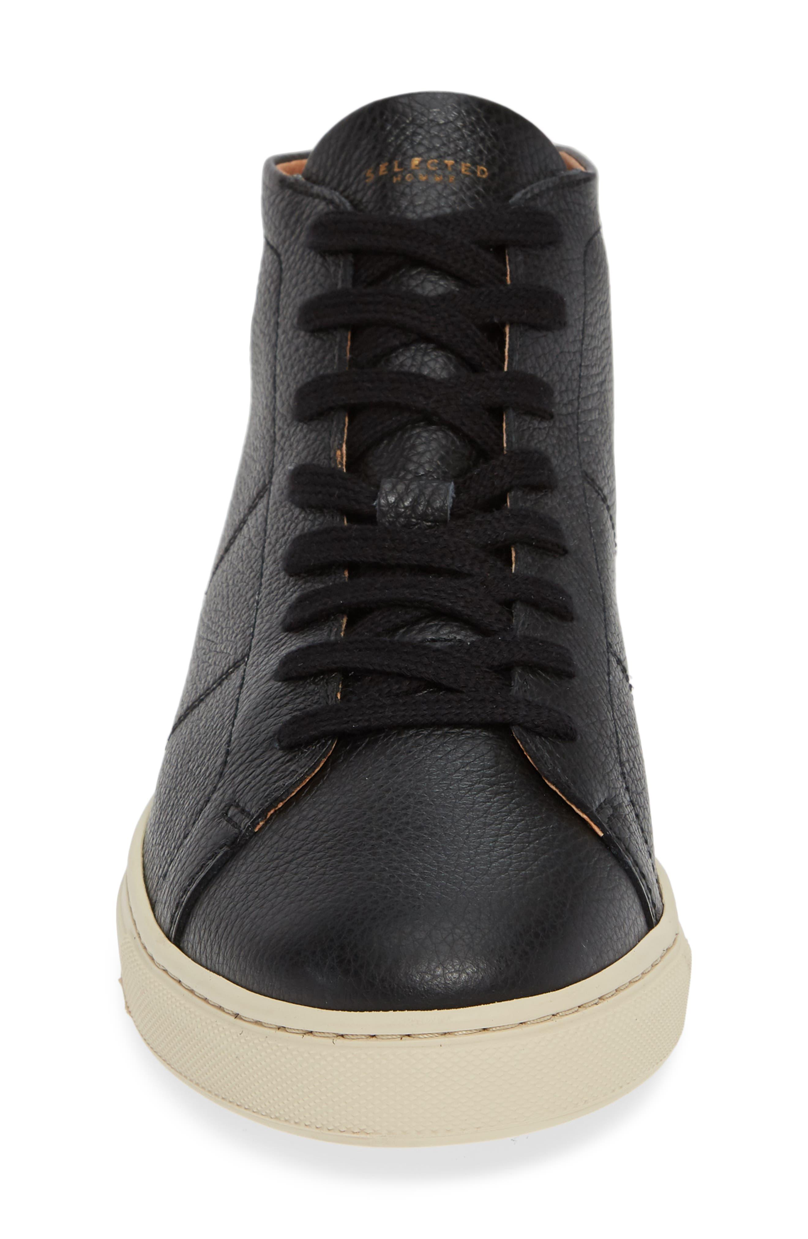 David Sneaker,                             Alternate thumbnail 4, color,                             BLACK