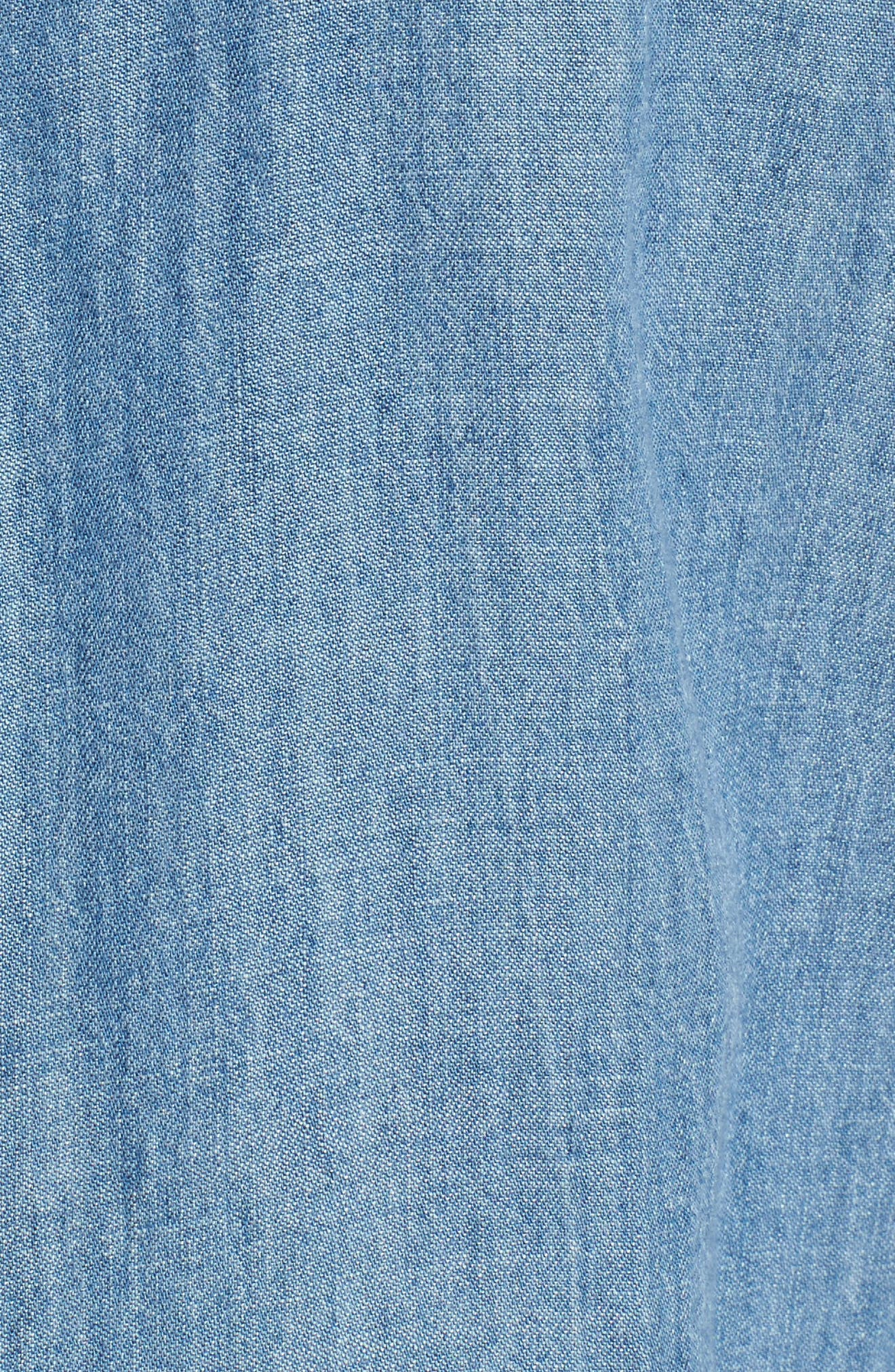 Kade Denim Shirt,                             Alternate thumbnail 5, color,                             493