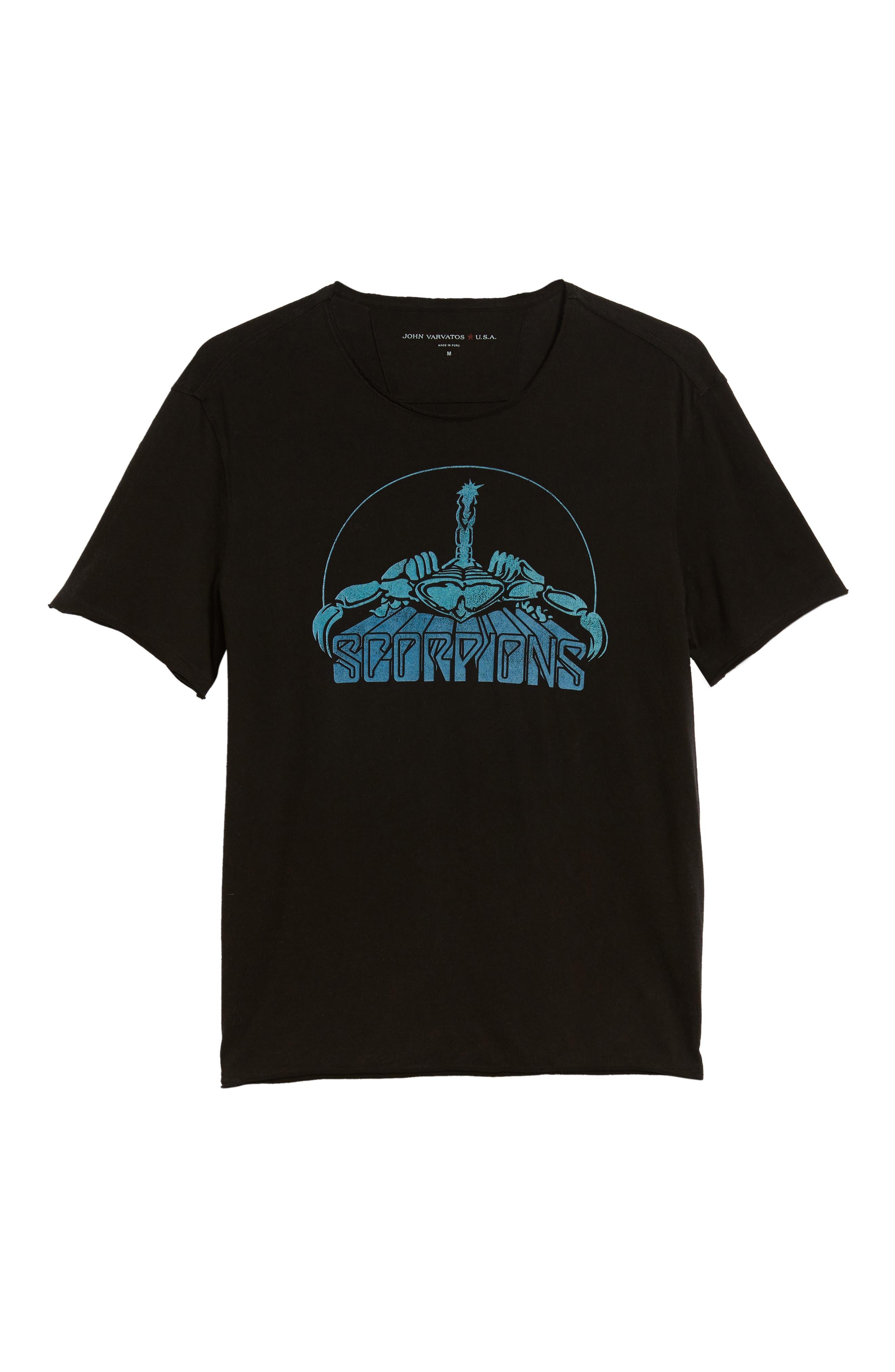 Scorpions T-Shirt,                             Alternate thumbnail 6, color,                             001