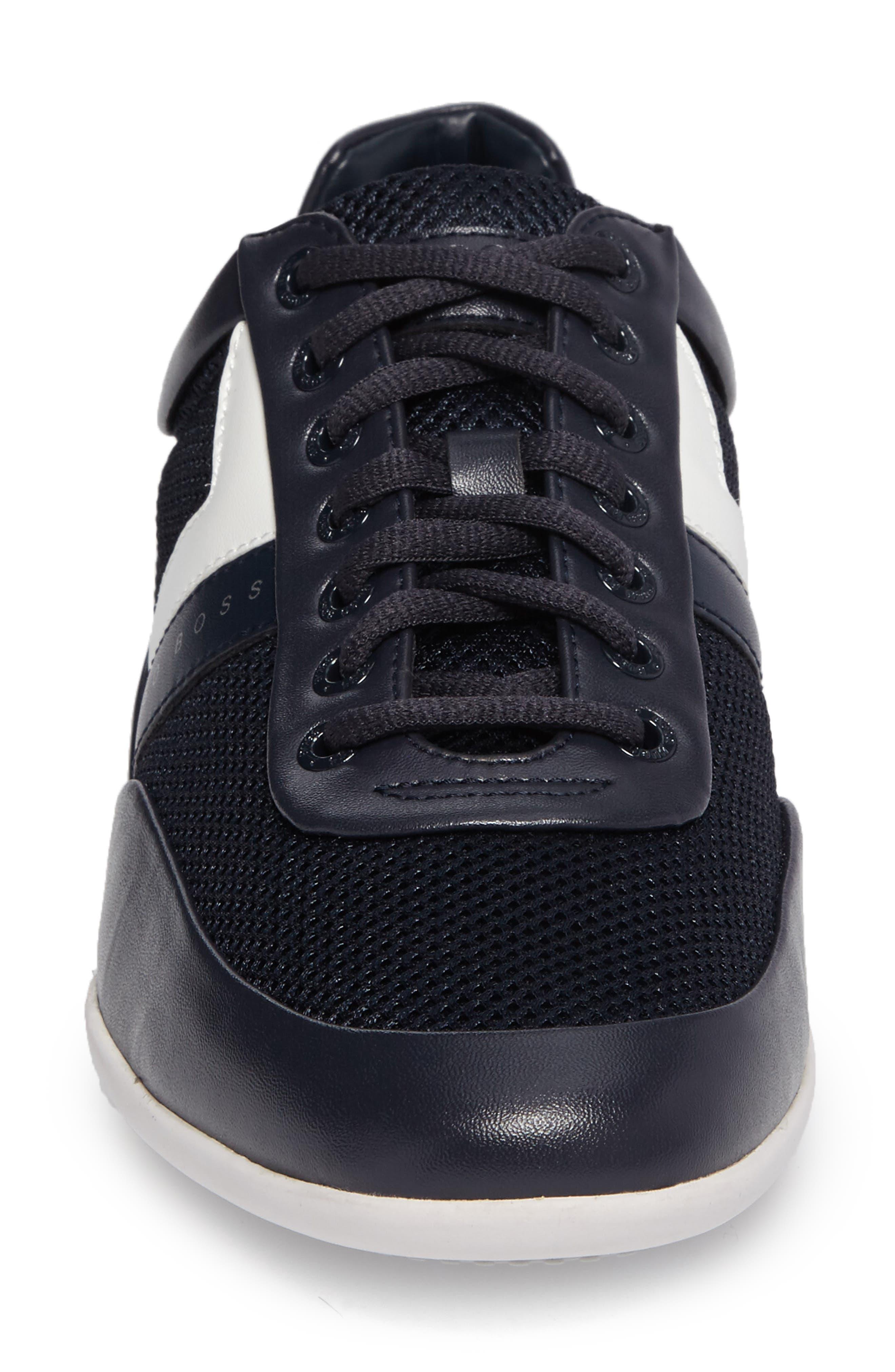 Green Space Mesh Sneaker,                             Alternate thumbnail 4, color,                             405
