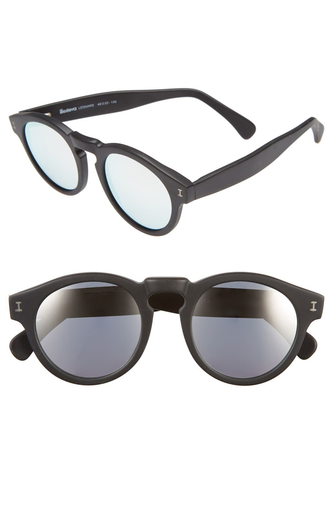 'Leonard' 47mm Sunglasses,                             Main thumbnail 2, color,