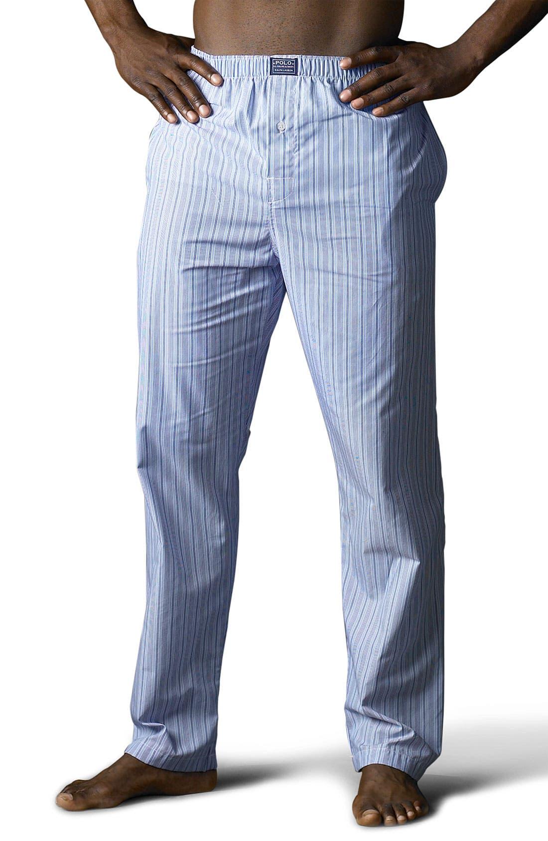 Pajama Pants,                             Main thumbnail 1, color,                             ANDREW STRIPE