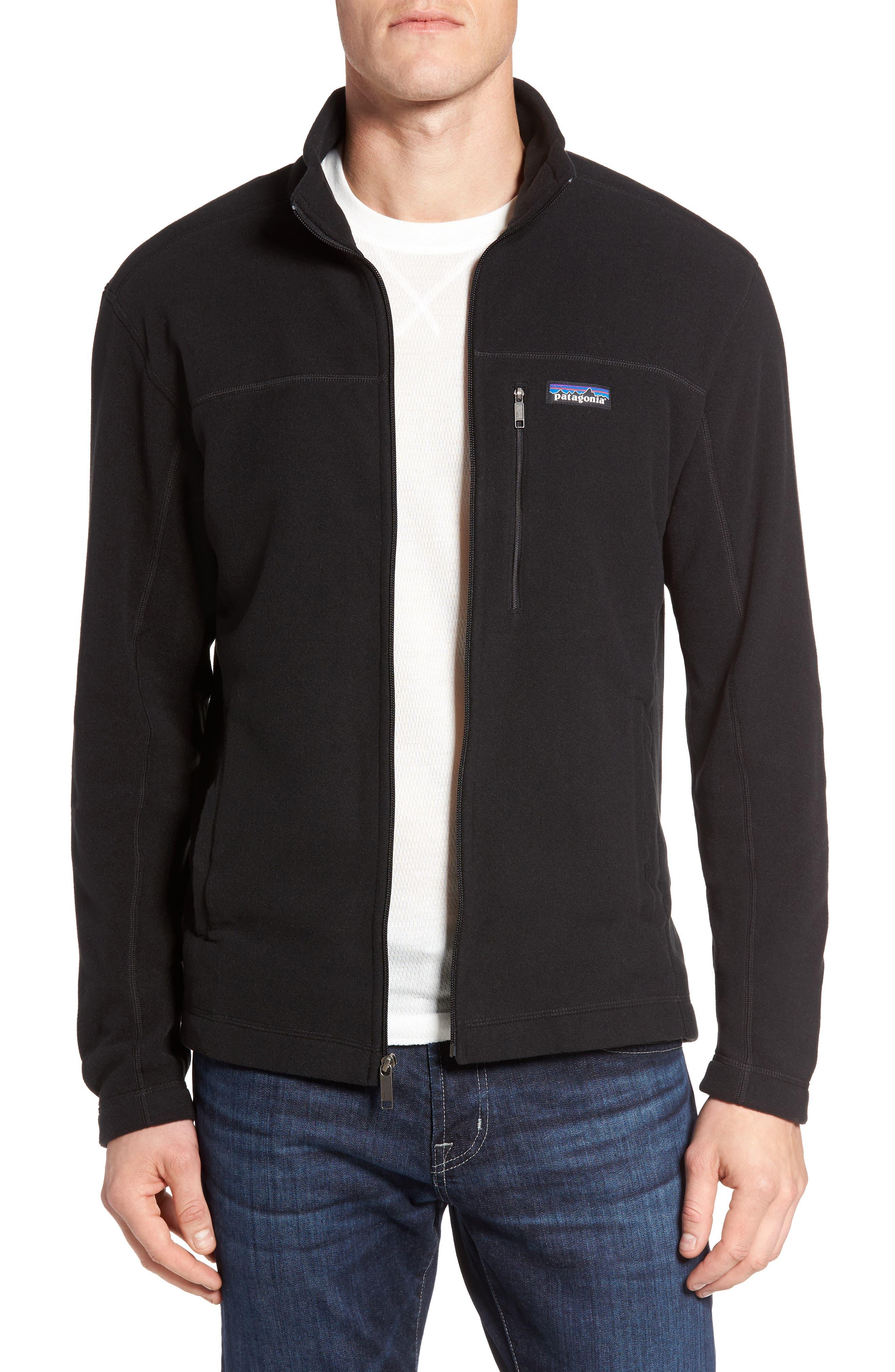 Micro D<sup>®</sup> Fleece Jacket,                             Alternate thumbnail 2, color,                             001