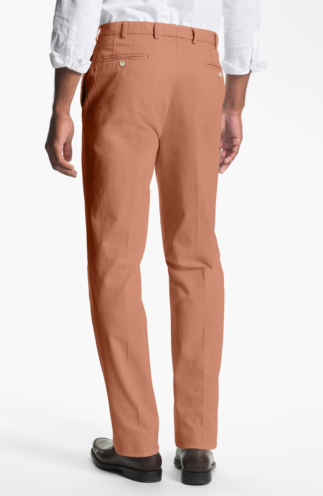 Garment Washed Twill Pants,                             Alternate thumbnail 38, color,