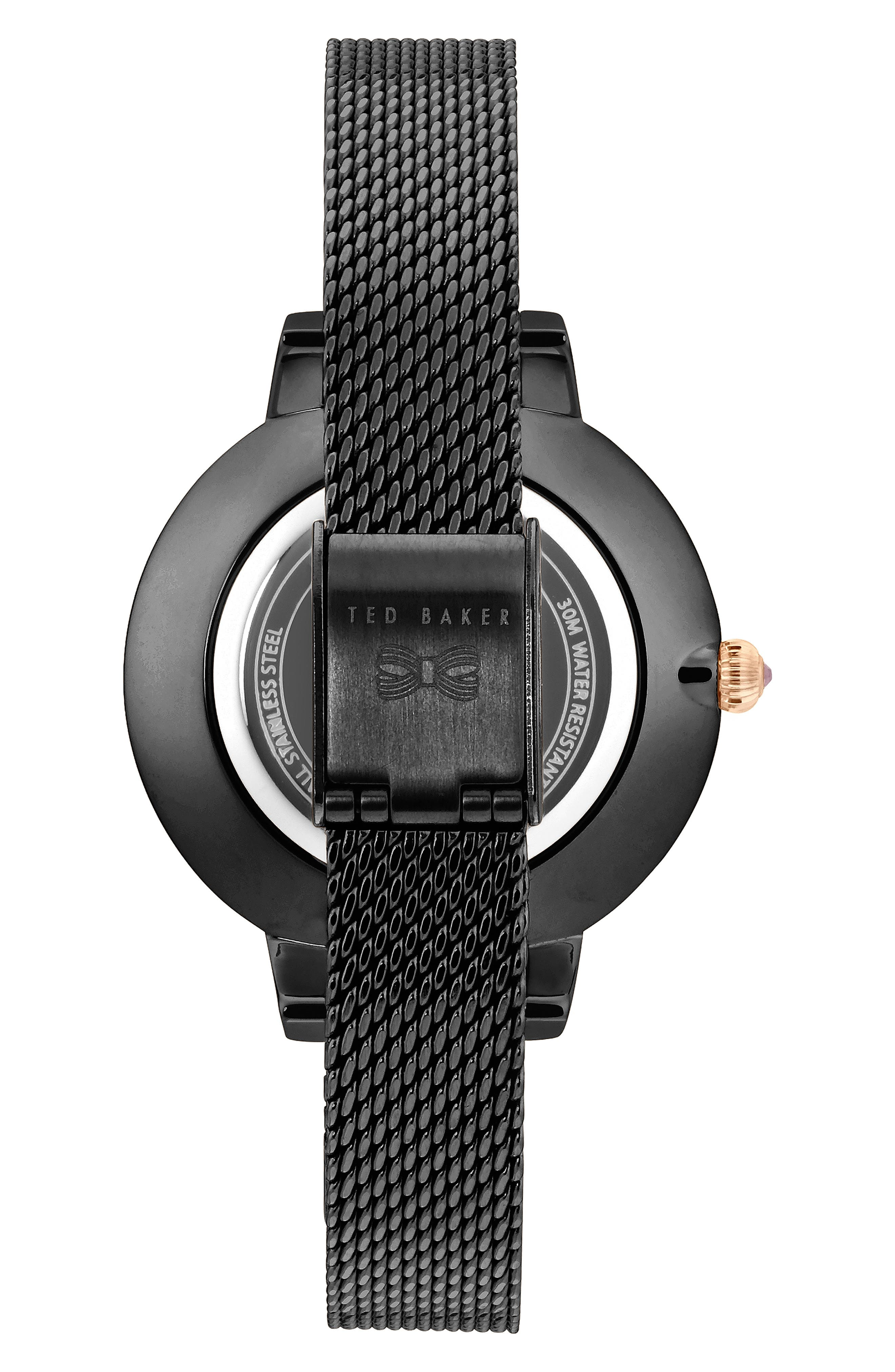 Kate Mesh Strap Watch, 32mm,                             Alternate thumbnail 2, color,                             020