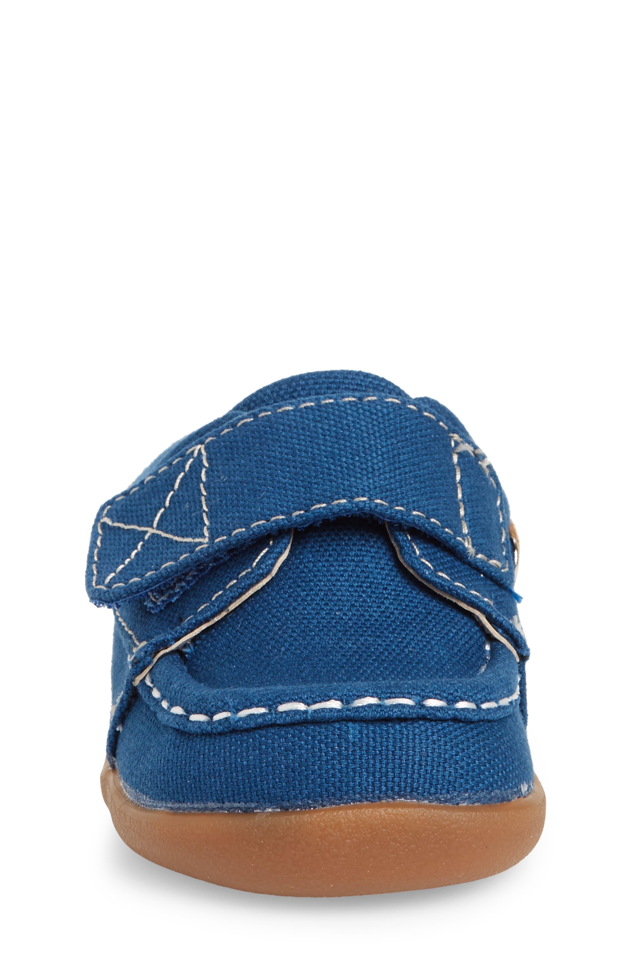 Arthur Sneaker,                             Alternate thumbnail 4, color,                             BLUE CANVAS