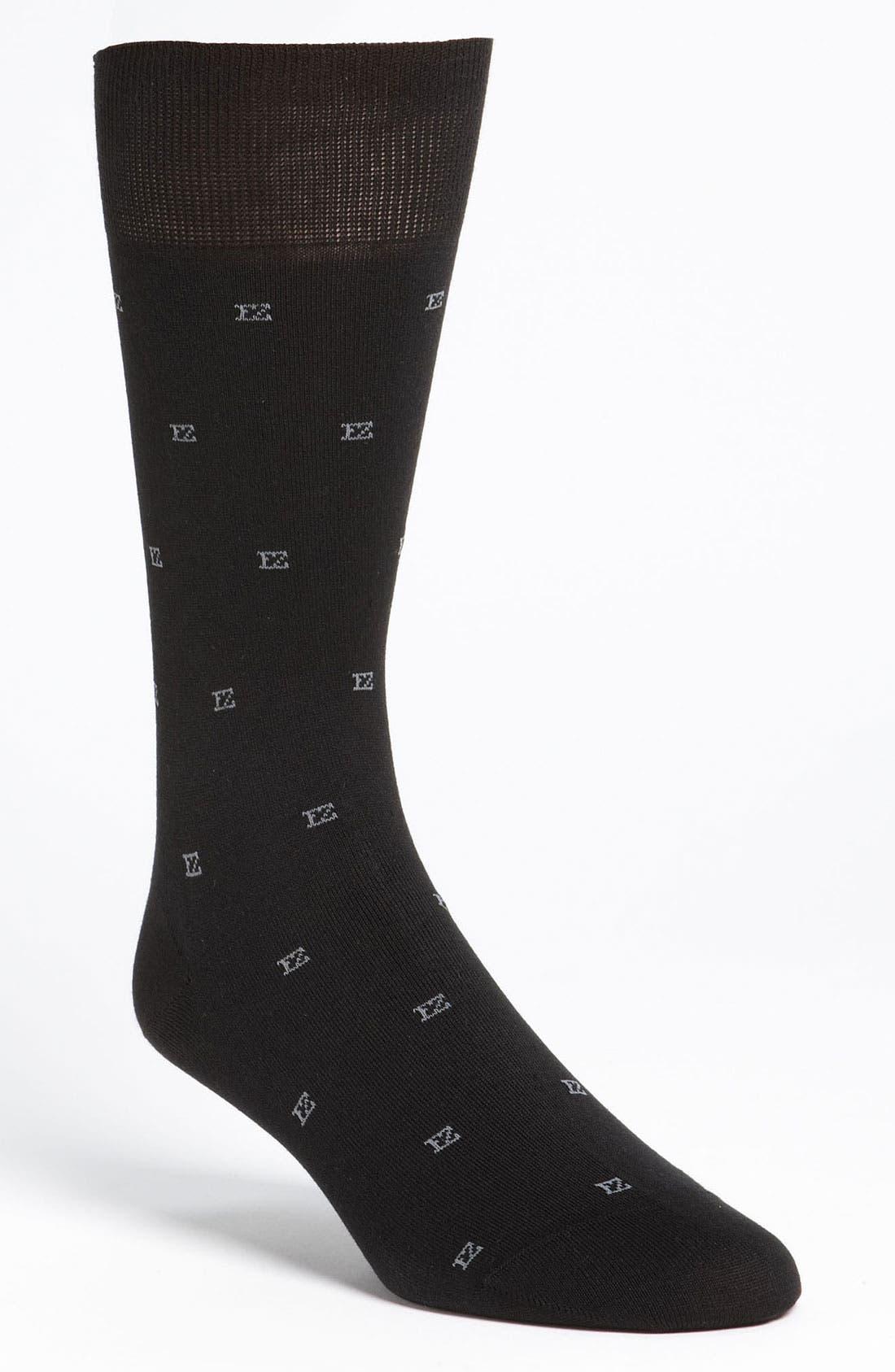 Logo Socks, Main, color, 001