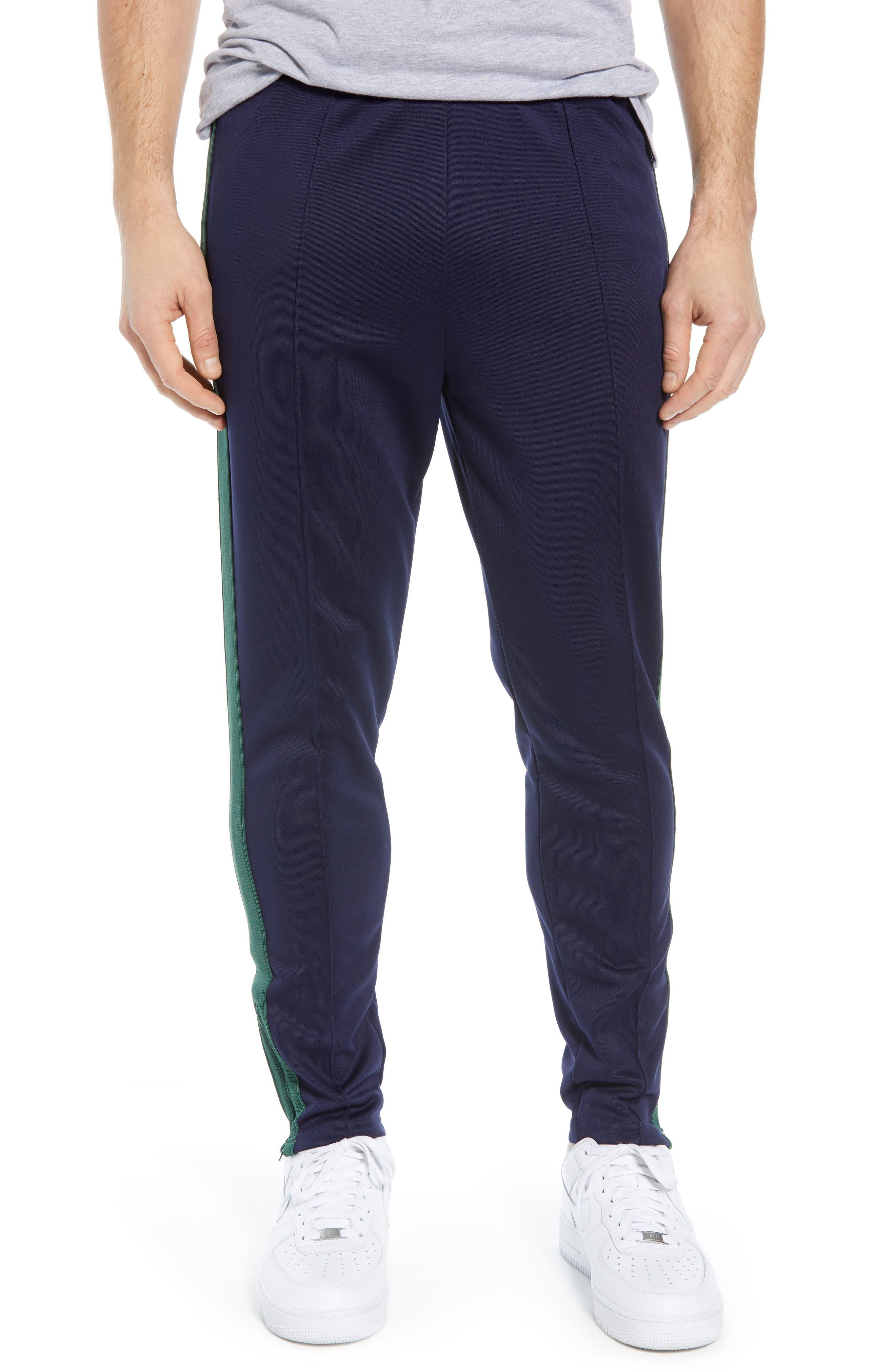 NIKE,                             x Martine Rose Men's Track Pants,                             Main thumbnail 1, color,                             BLACKENED BLUE/ FIR