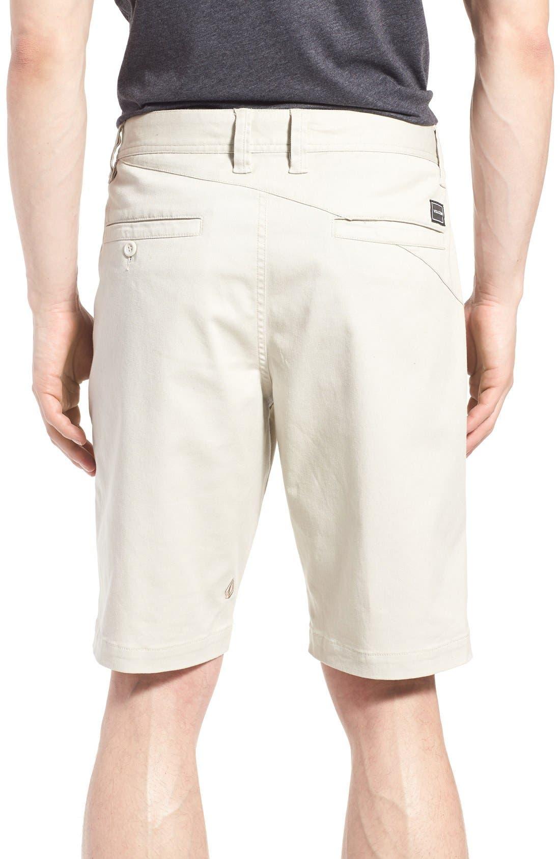 'Modern' Stretch Chino Shorts,                             Alternate thumbnail 19, color,