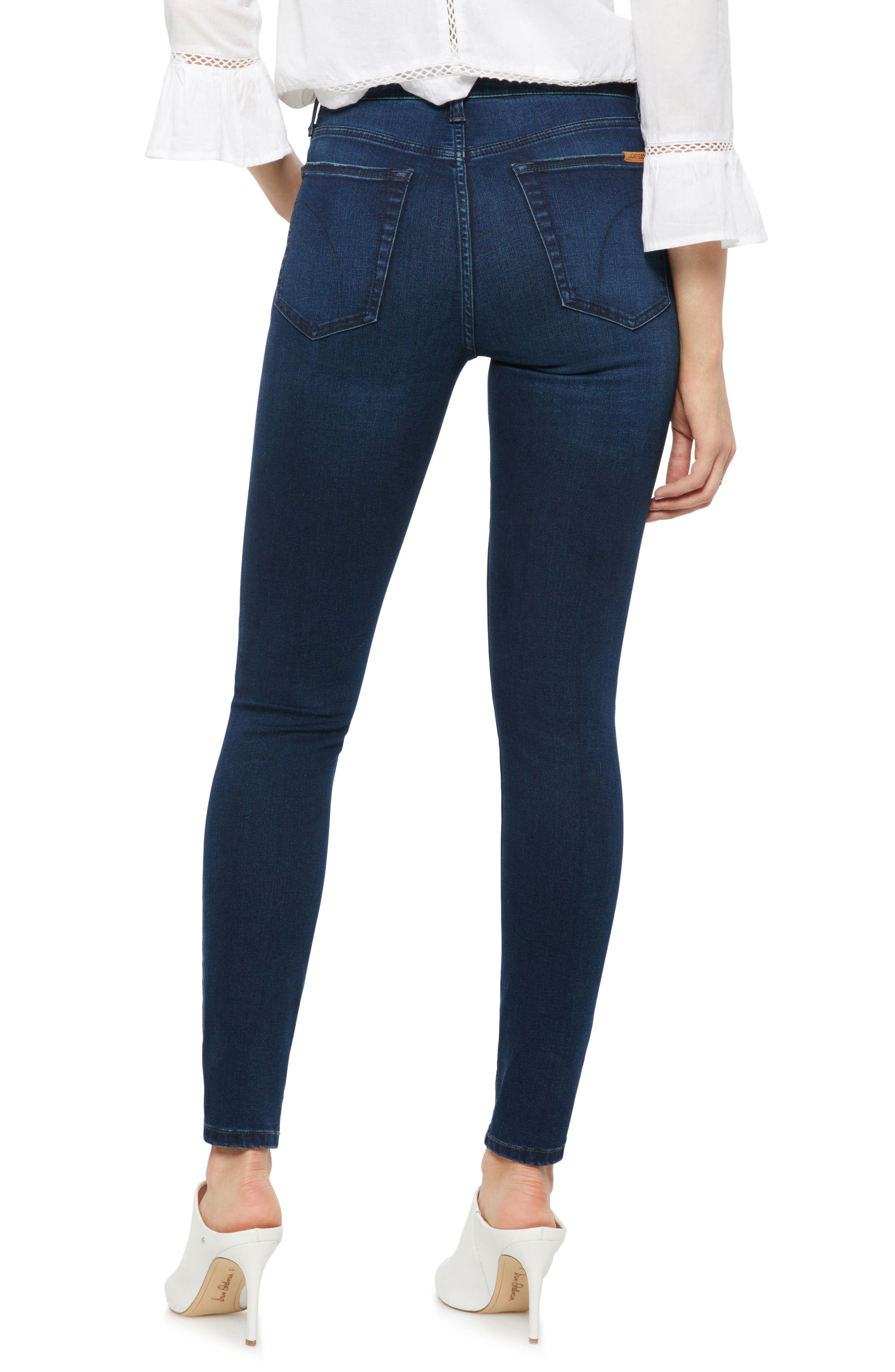 Charlie High Rise Skinny Jeans,                             Alternate thumbnail 2, color,                             HOPE