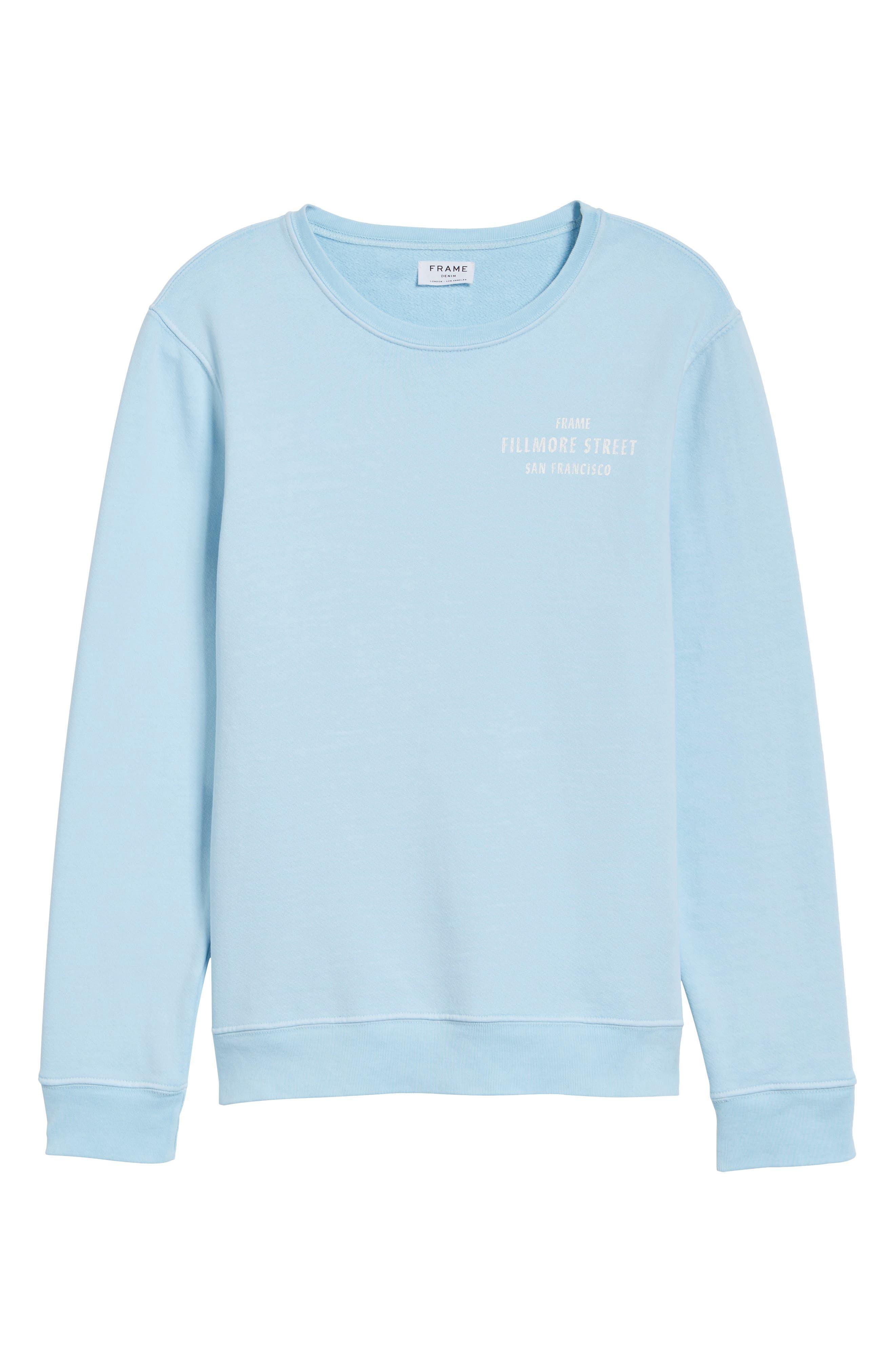 Vintage Crewneck Sweatshirt,                             Alternate thumbnail 6, color,                             400