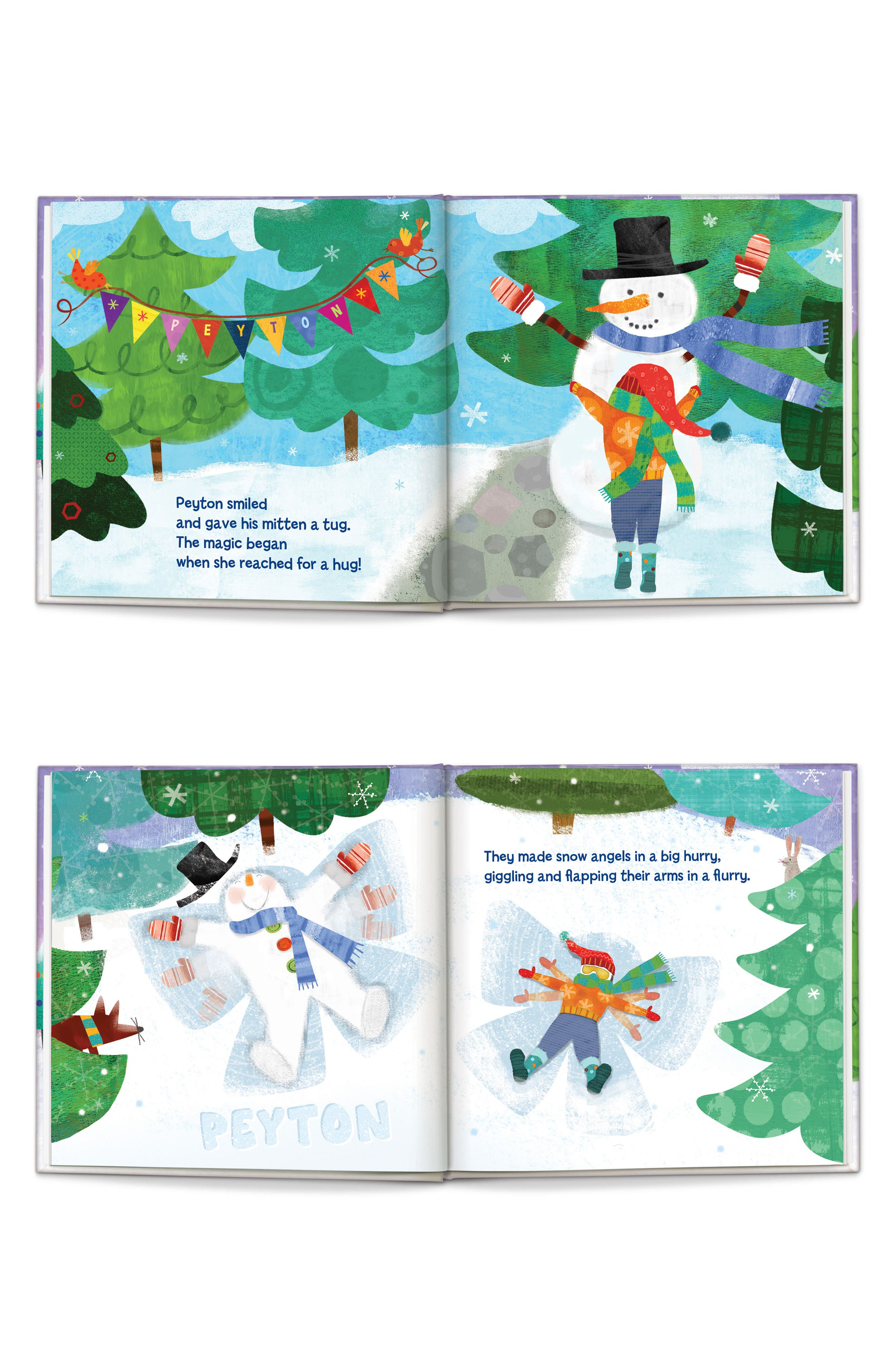 'My Magical Snowman' Personalized Storybook,                             Alternate thumbnail 2, color,                             PURPLE