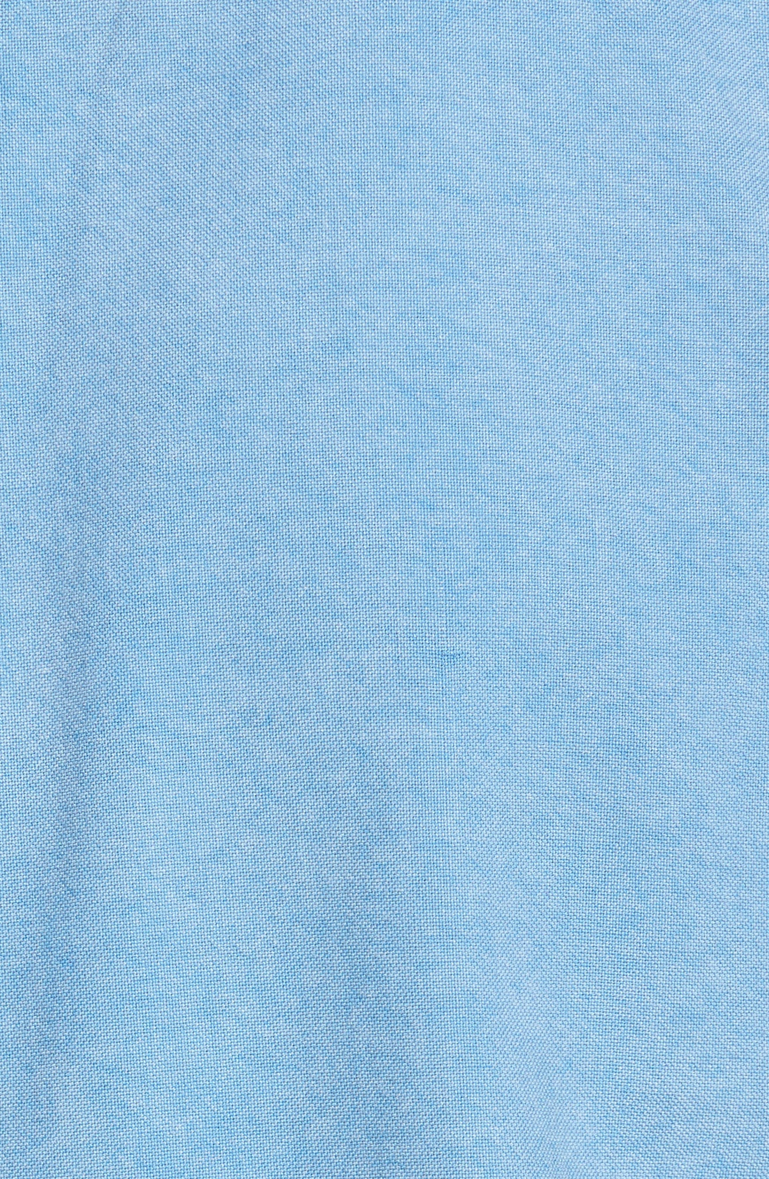 Regular Fit Oxford Sport Shirt,                             Alternate thumbnail 5, color,                             460