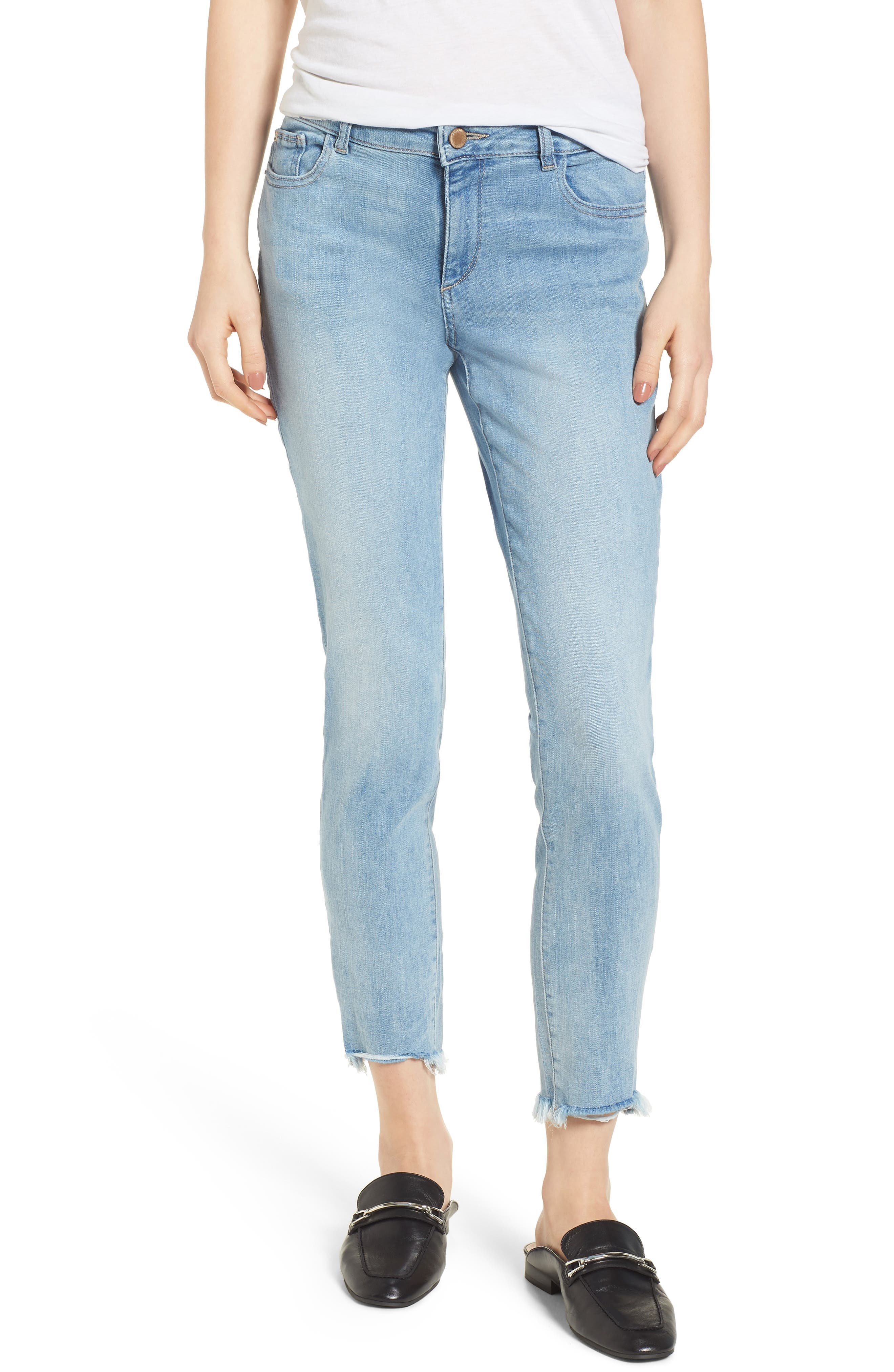 Coco Curvy Ankle Skinny Jeans,                             Main thumbnail 1, color,
