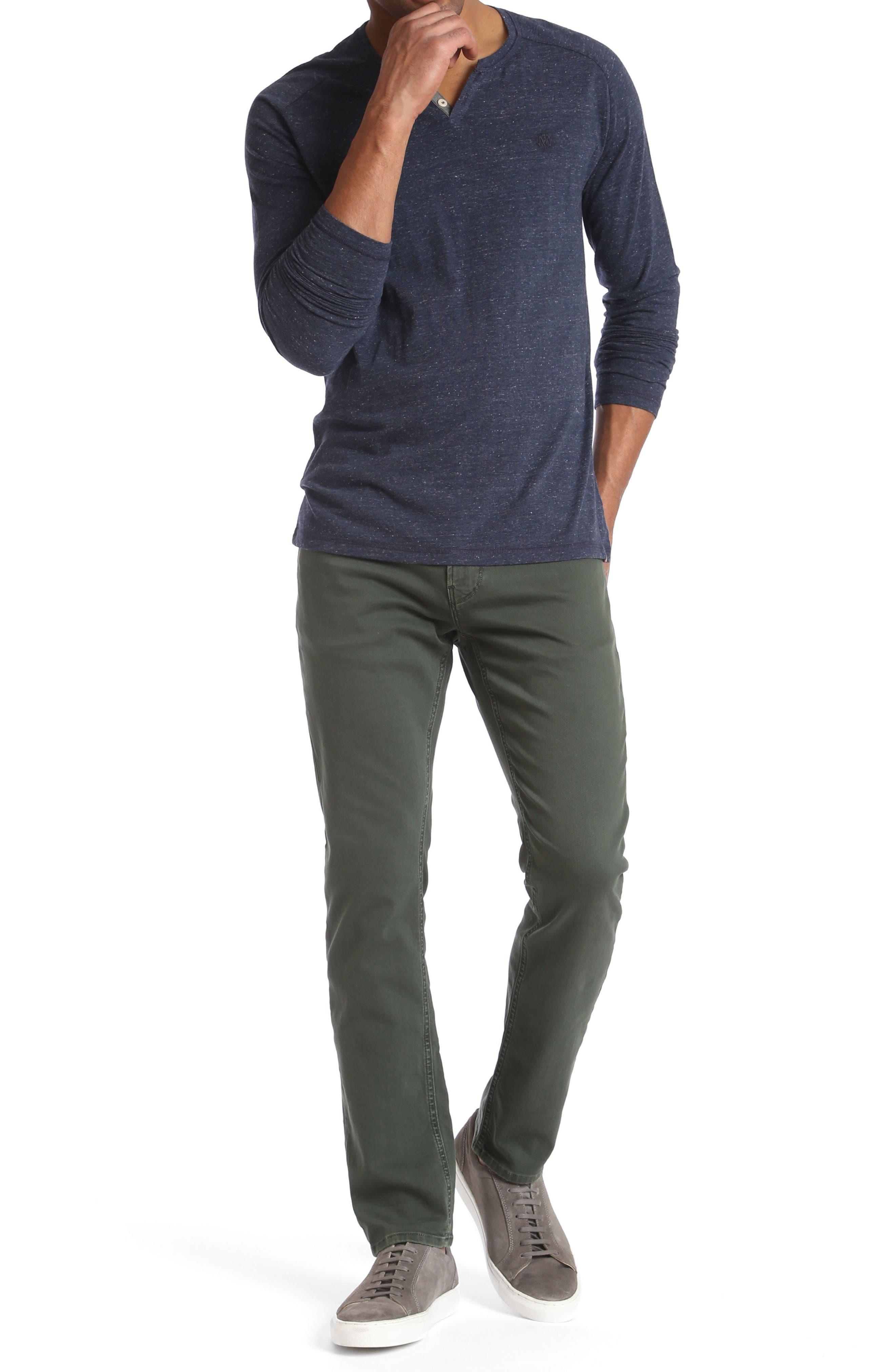 Mavi Jake Slim Fit Jeans,                             Alternate thumbnail 4, color,                             300