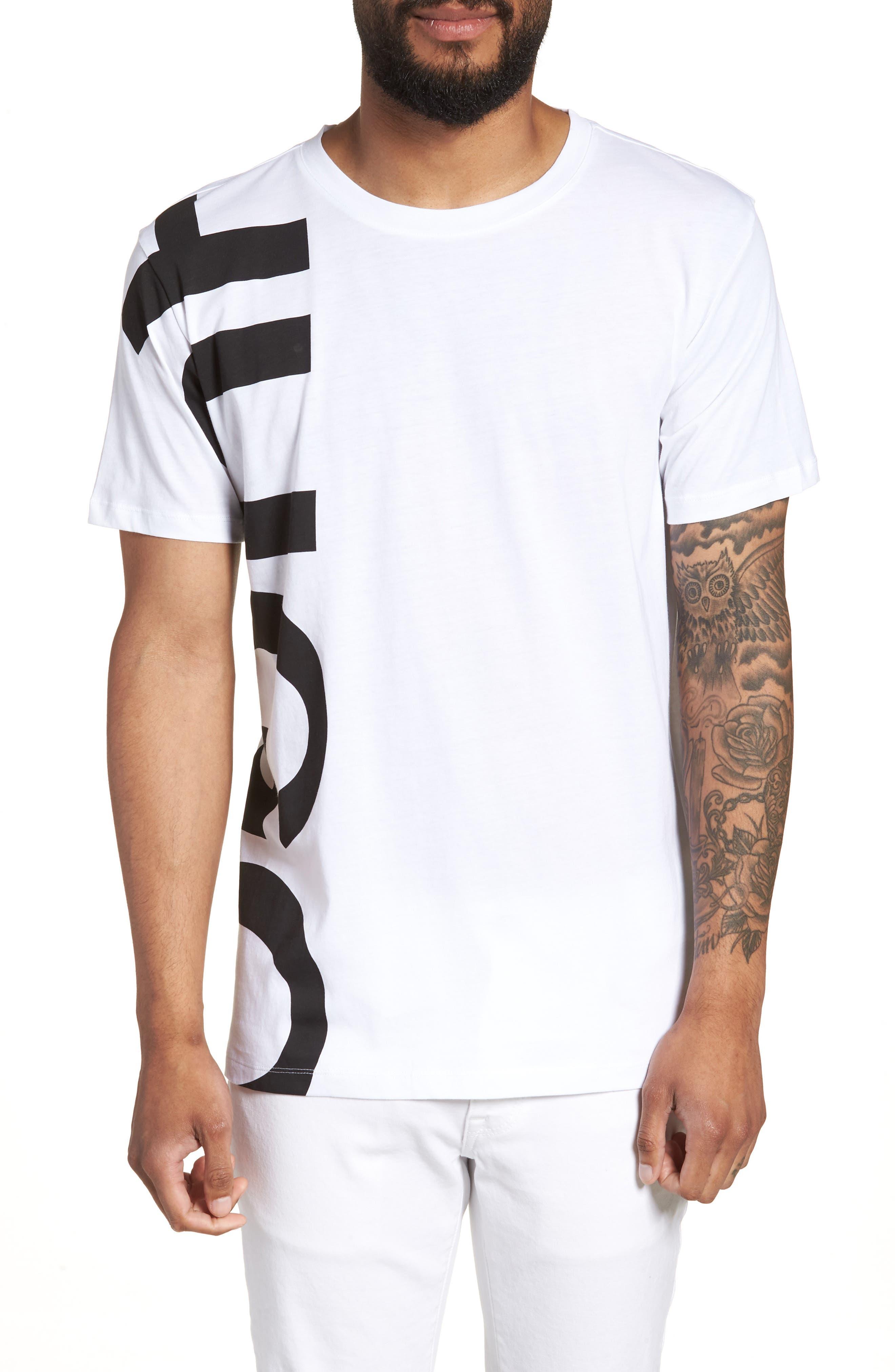 BOSS Daws Crewneck T-Shirt,                             Main thumbnail 2, color,