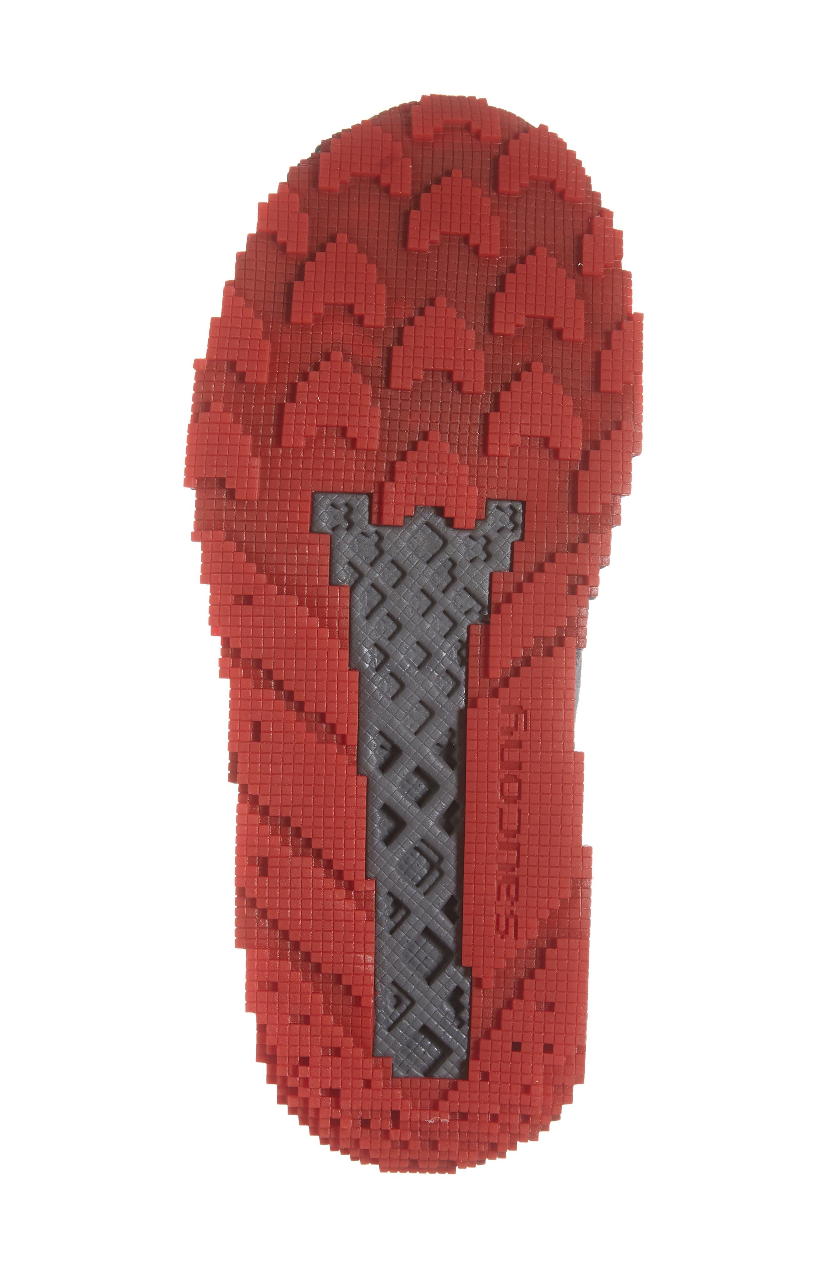 Voxel 9000 Sneaker,                             Alternate thumbnail 7, color,                             GREY LEATHER/ MESH 2