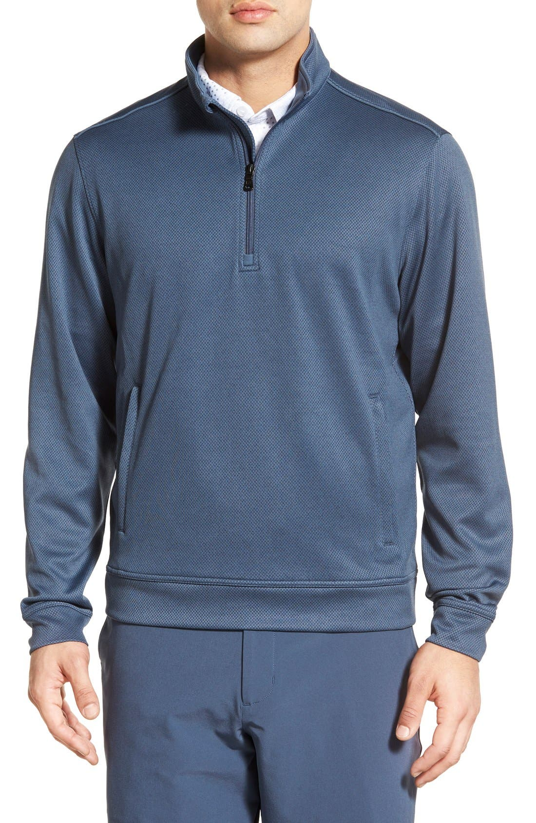 'Weather Tec Orbit' Half Zip Pullover,                             Main thumbnail 1, color,                             015