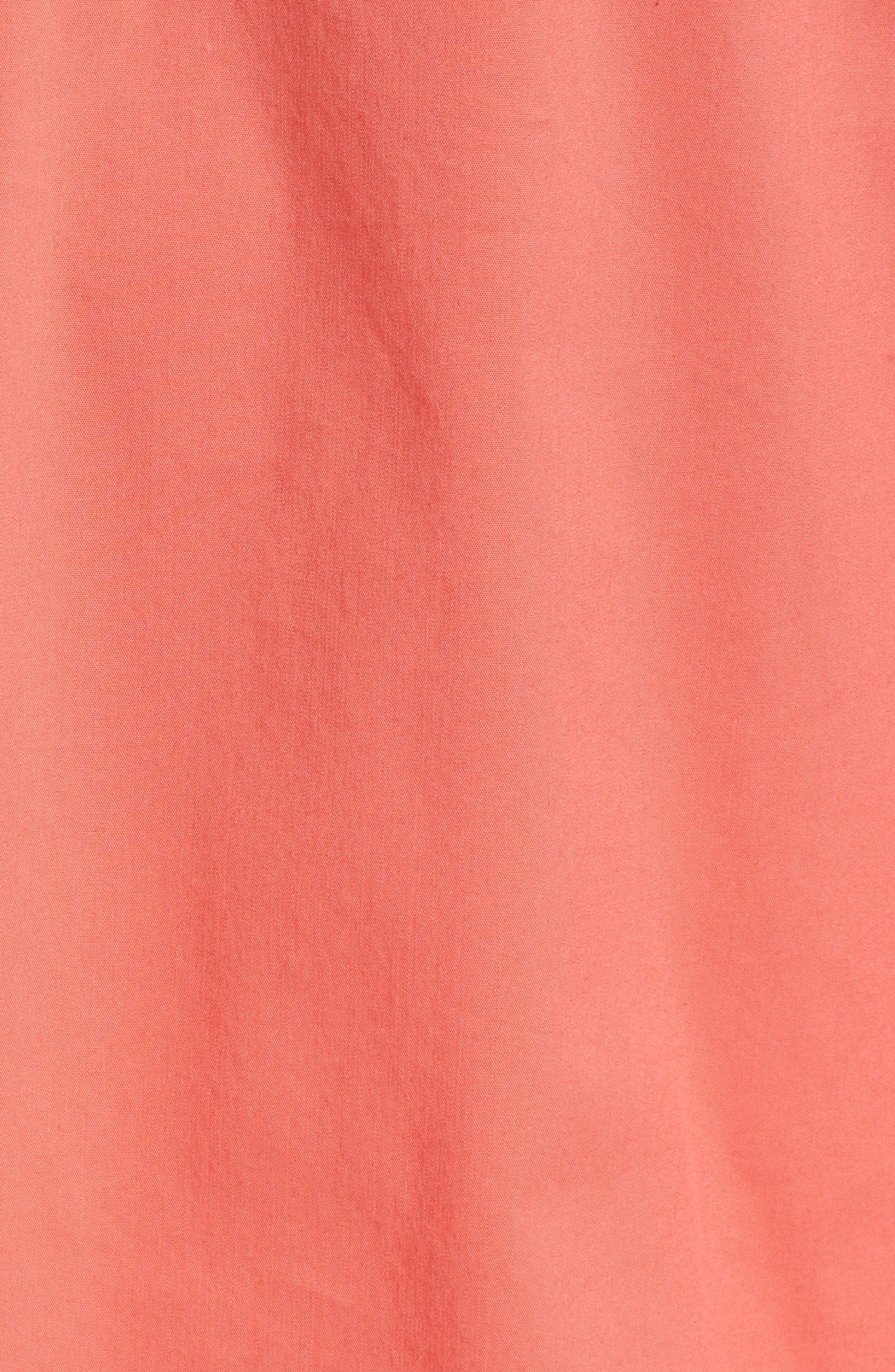 Ruffle Cotton Poplin Blend Top,                             Alternate thumbnail 25, color,
