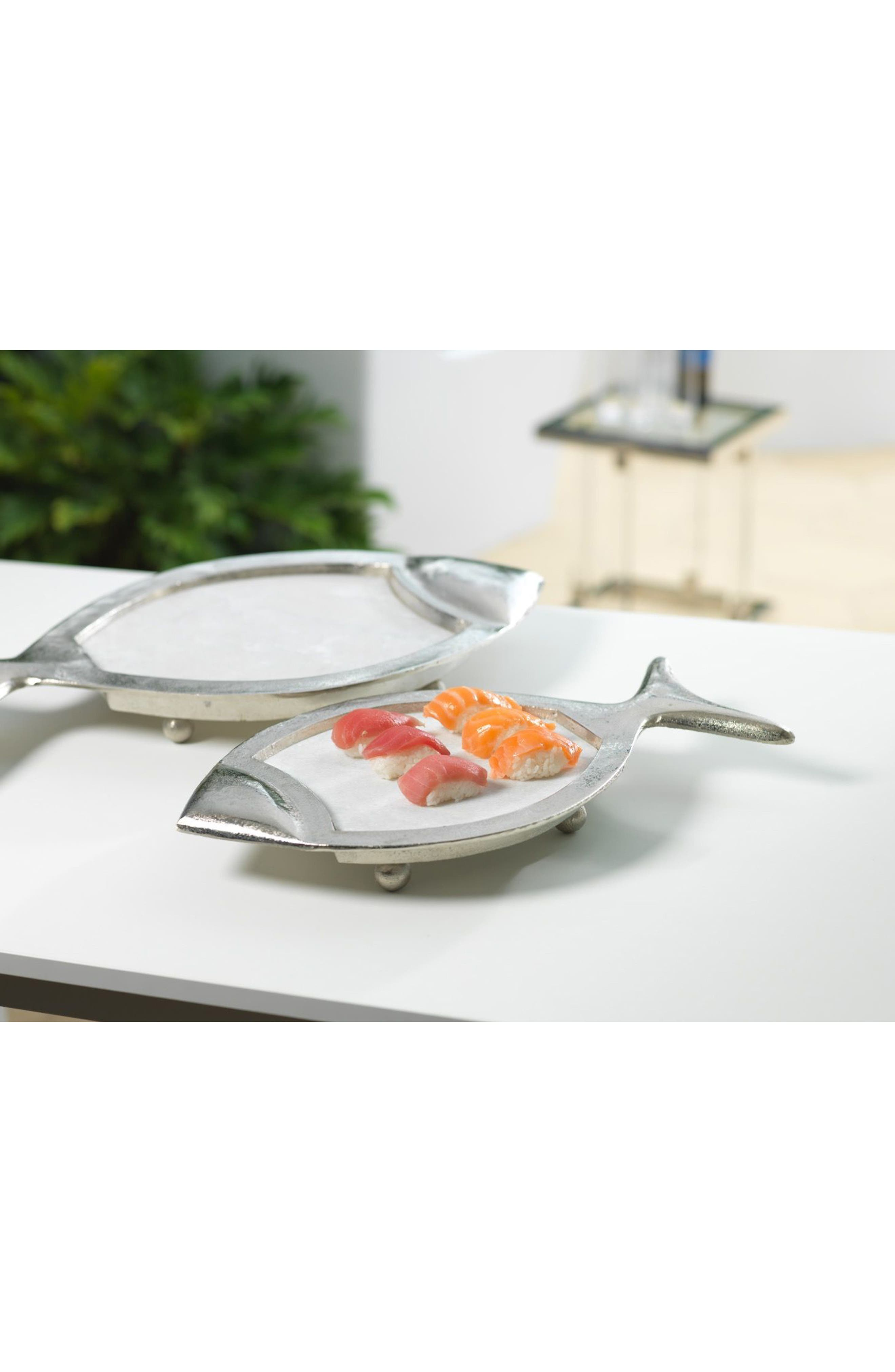 Cabo Fish Marble Inset Serving Tray,                             Alternate thumbnail 2, color,