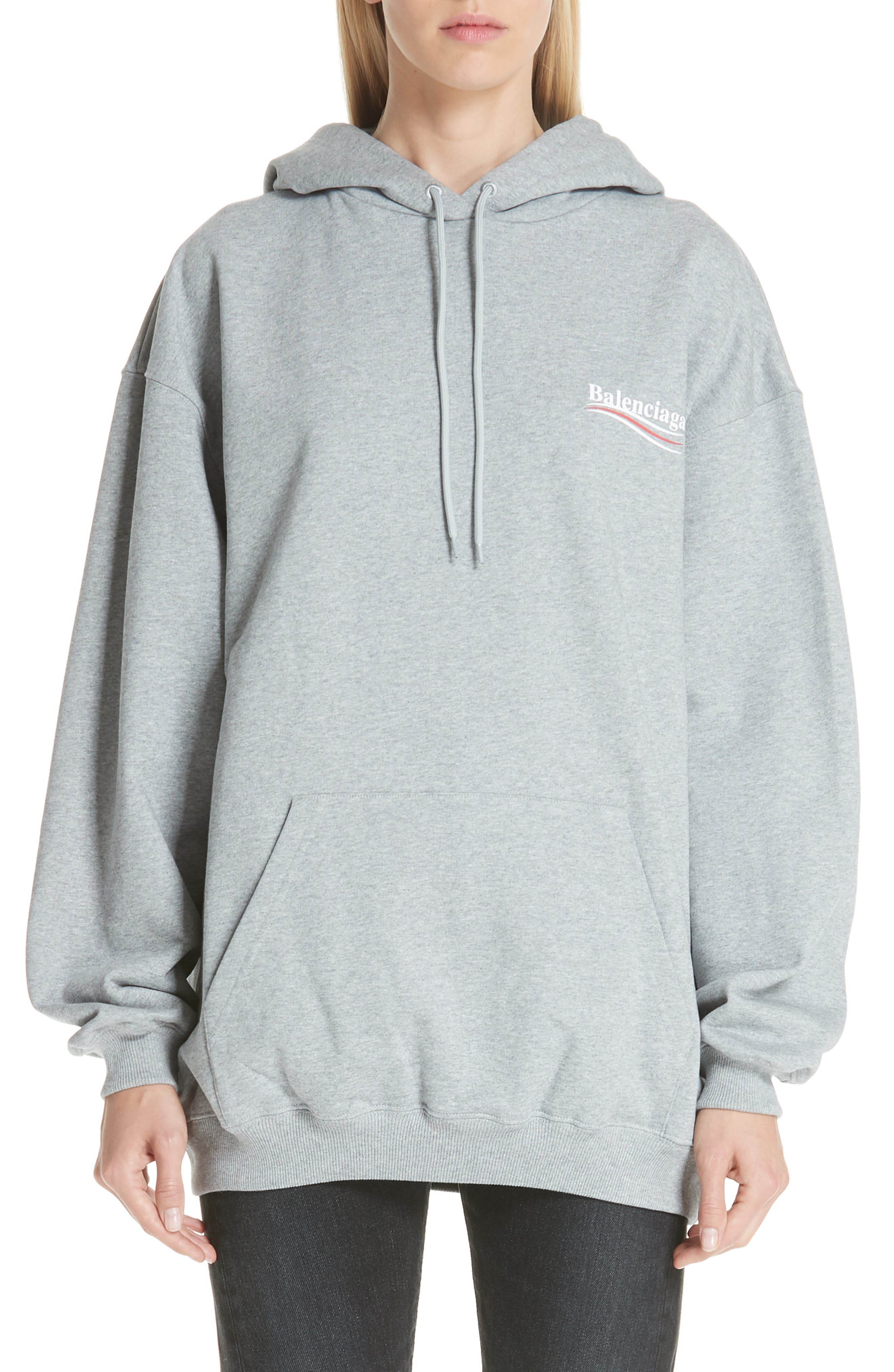 Campaign Logo Hoodie,                             Main thumbnail 1, color,                             020