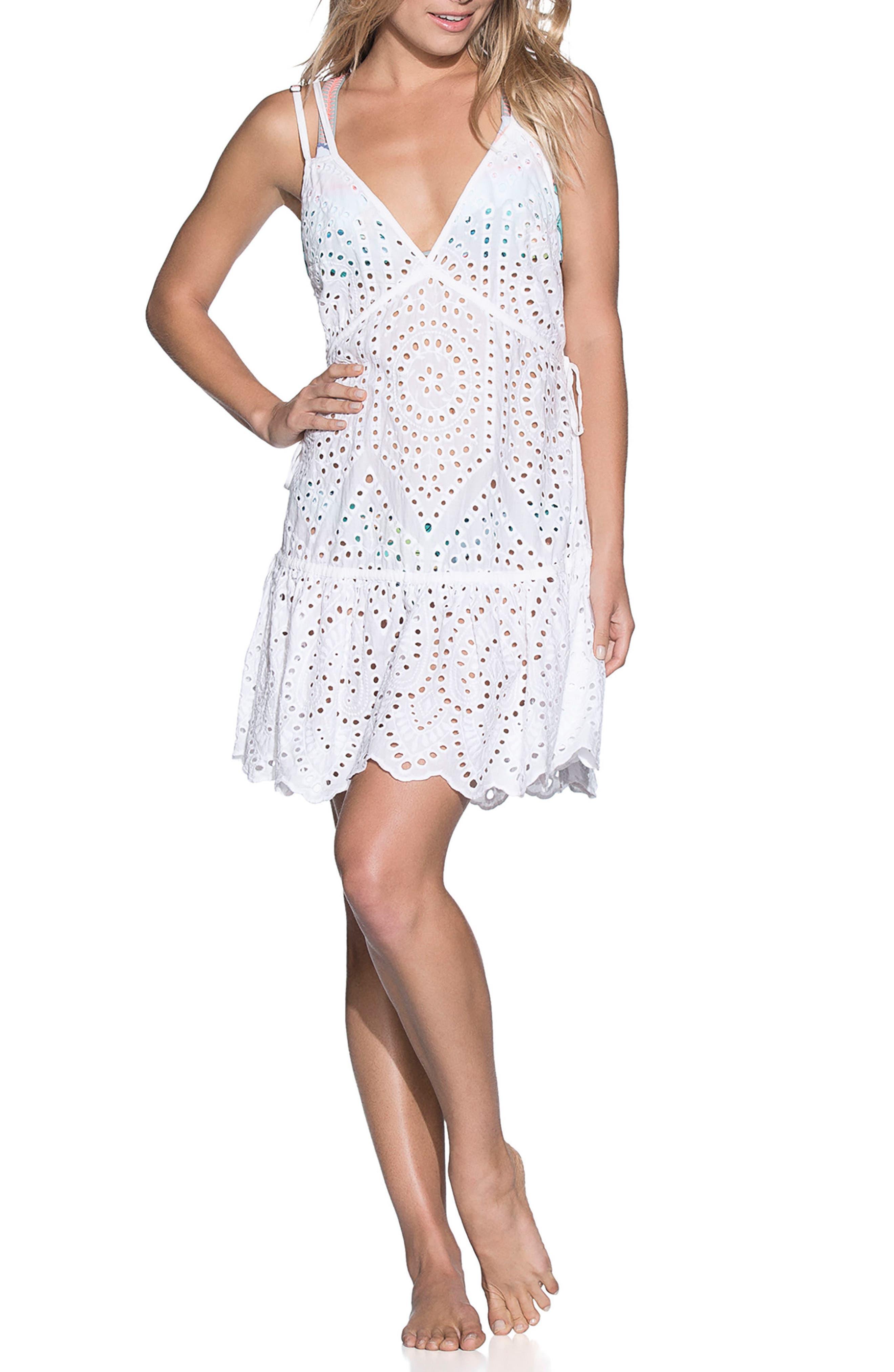Dreamy Wonderland Cover-Up Dress,                             Main thumbnail 1, color,                             100