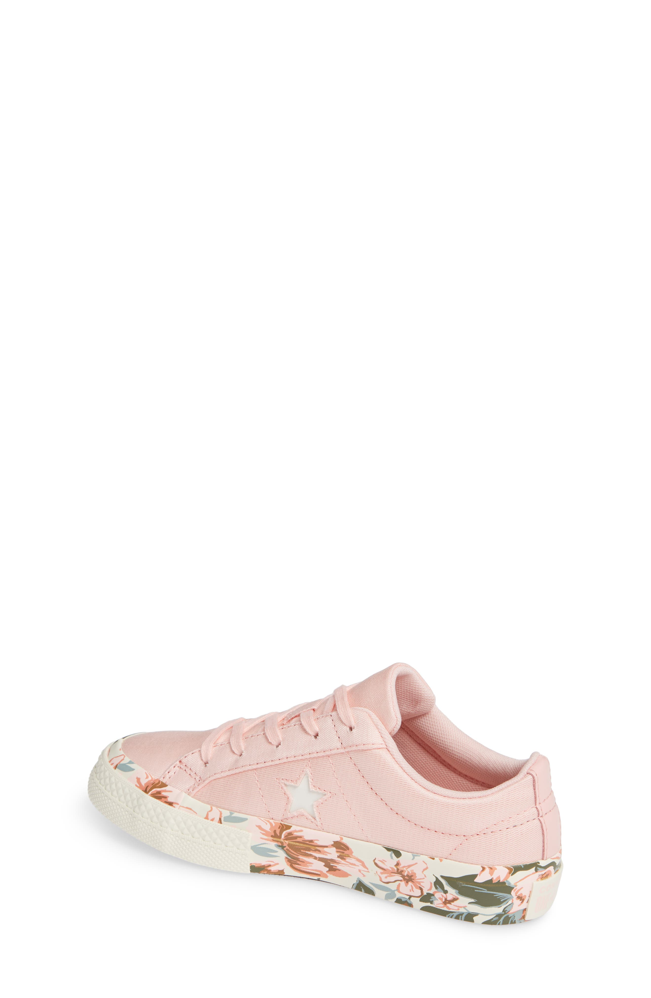 One Star Floral Sneaker,                             Alternate thumbnail 2, color,                             690