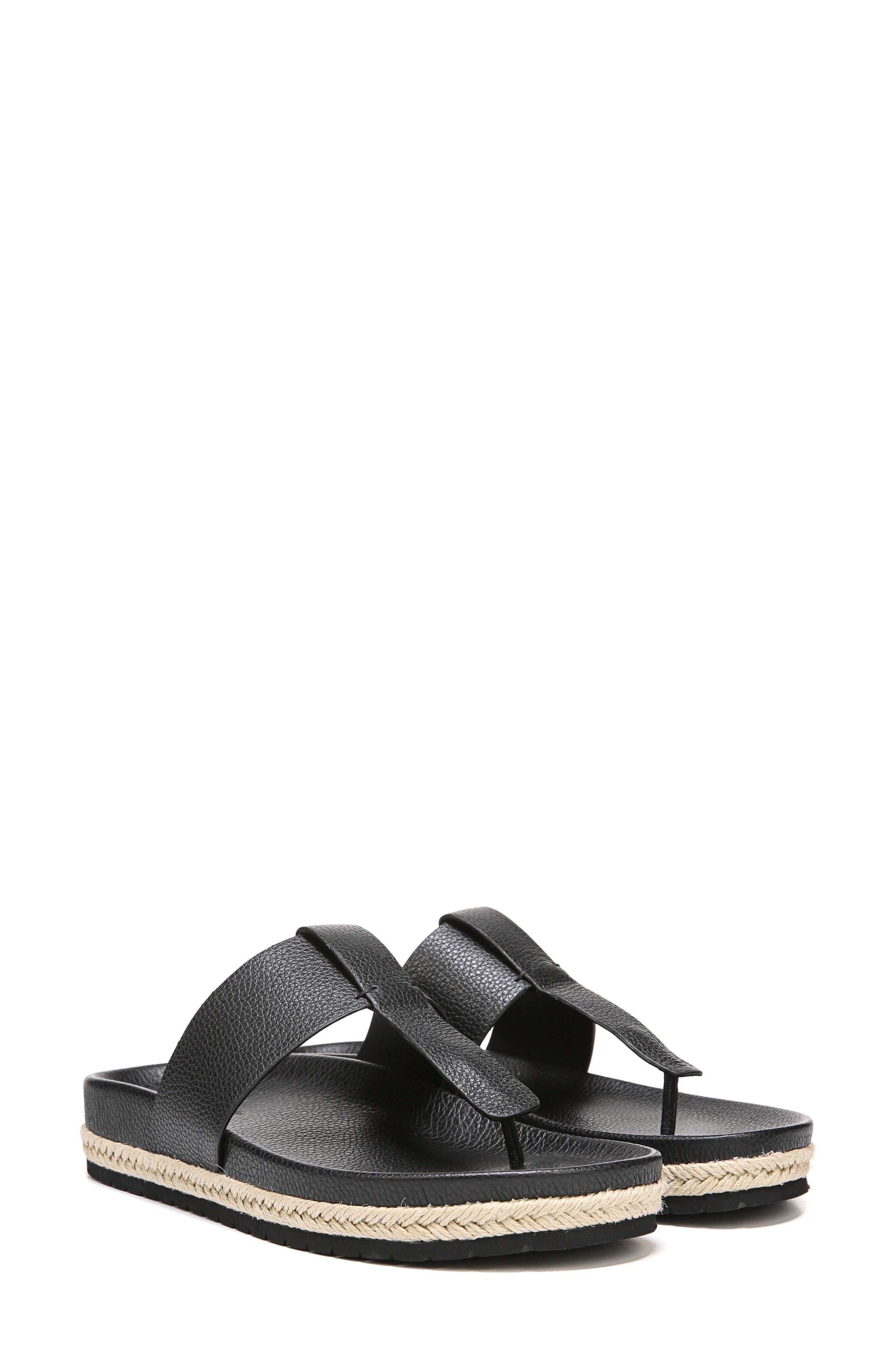 Avani T-Strap Flat Sandal,                             Alternate thumbnail 8, color,                             001