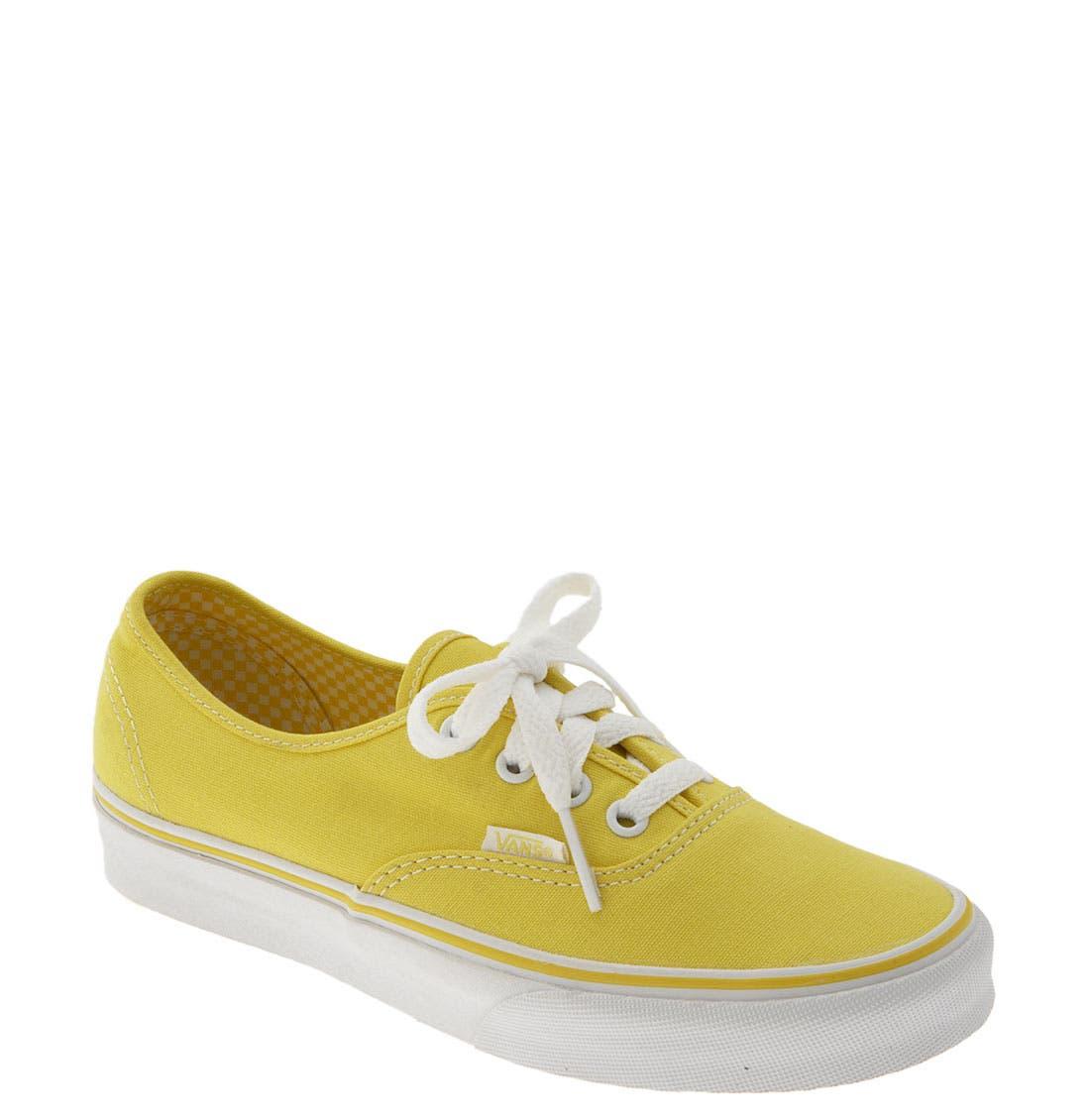 'Authentic' Sneaker,                             Main thumbnail 80, color,