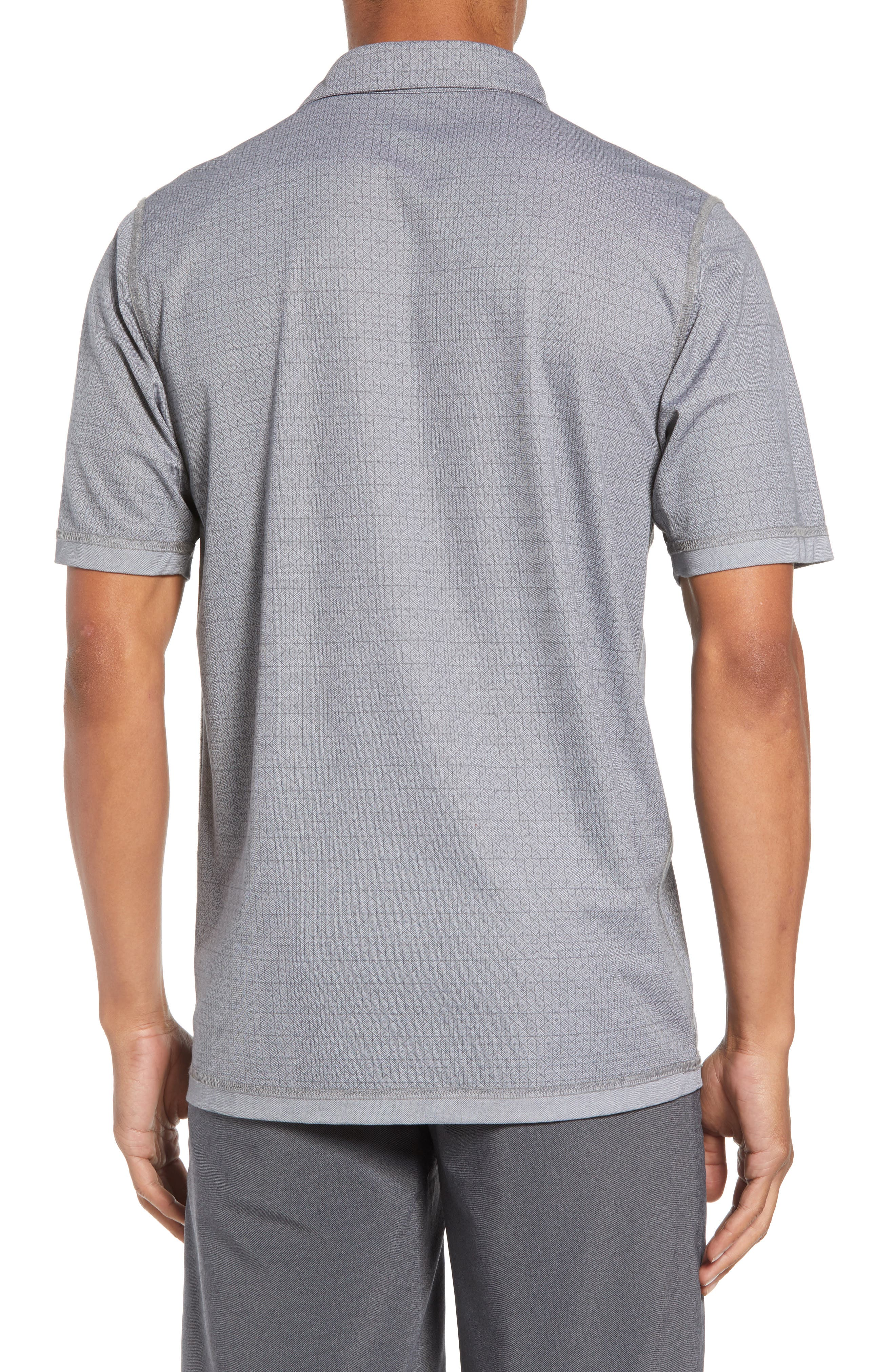 Reverse It Regular Fit Polo,                             Alternate thumbnail 2, color,                             HEATHER QUIET SHADE