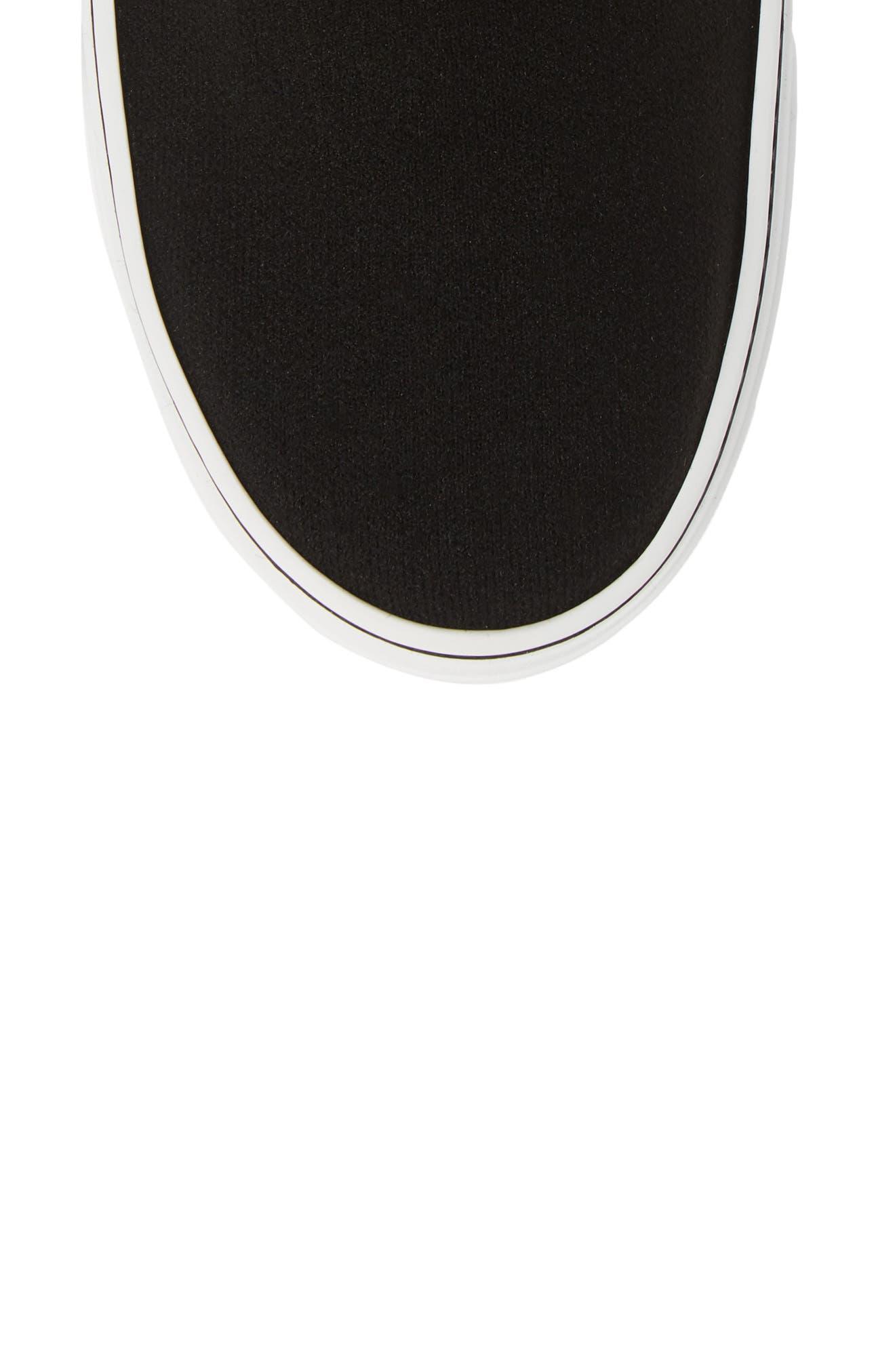 George V Sneaker,                             Alternate thumbnail 5, color,                             BLACK/ RED