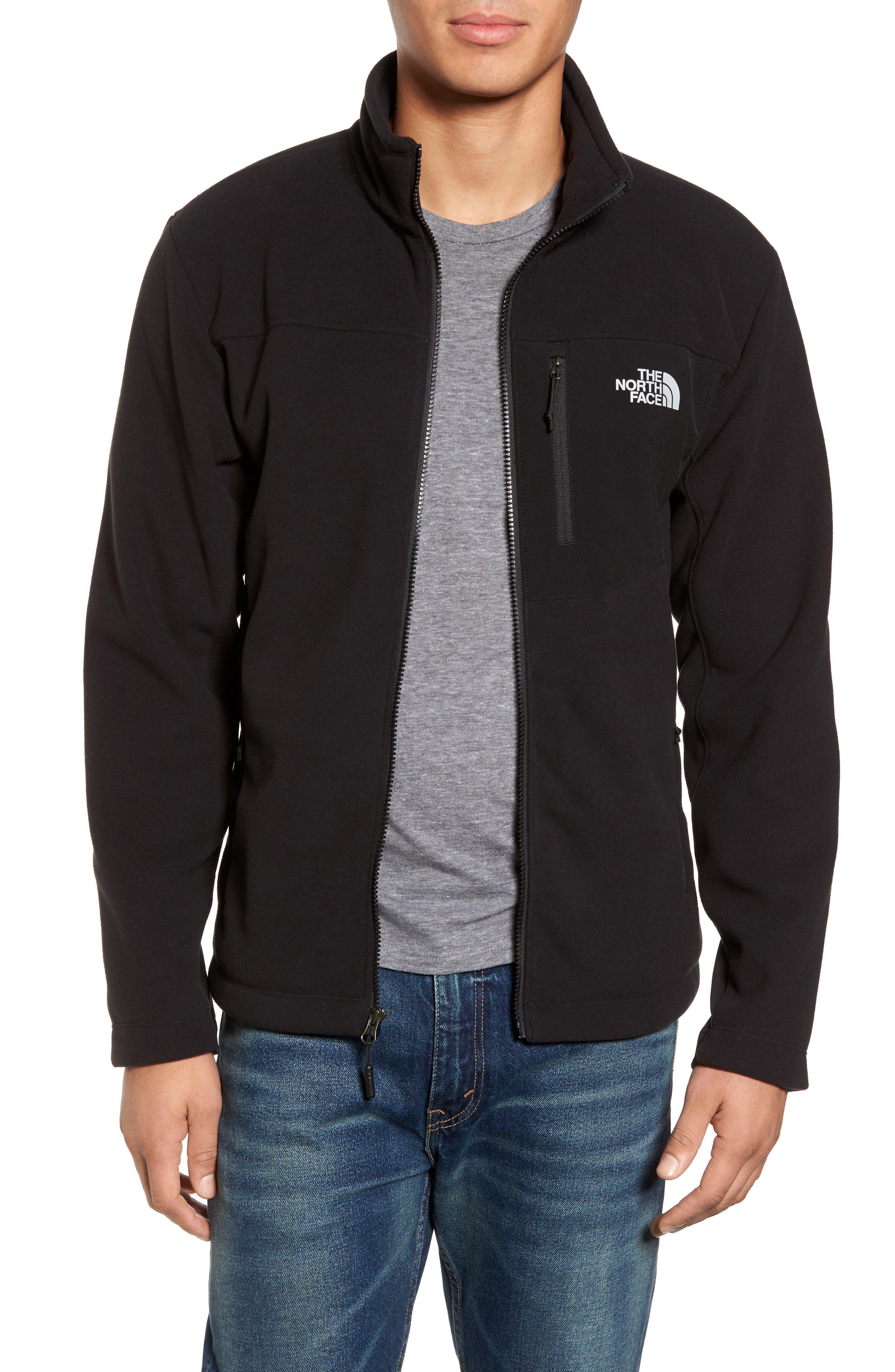 'Chimborazo' Zip Front Fleece Jacket,                         Main,                         color,