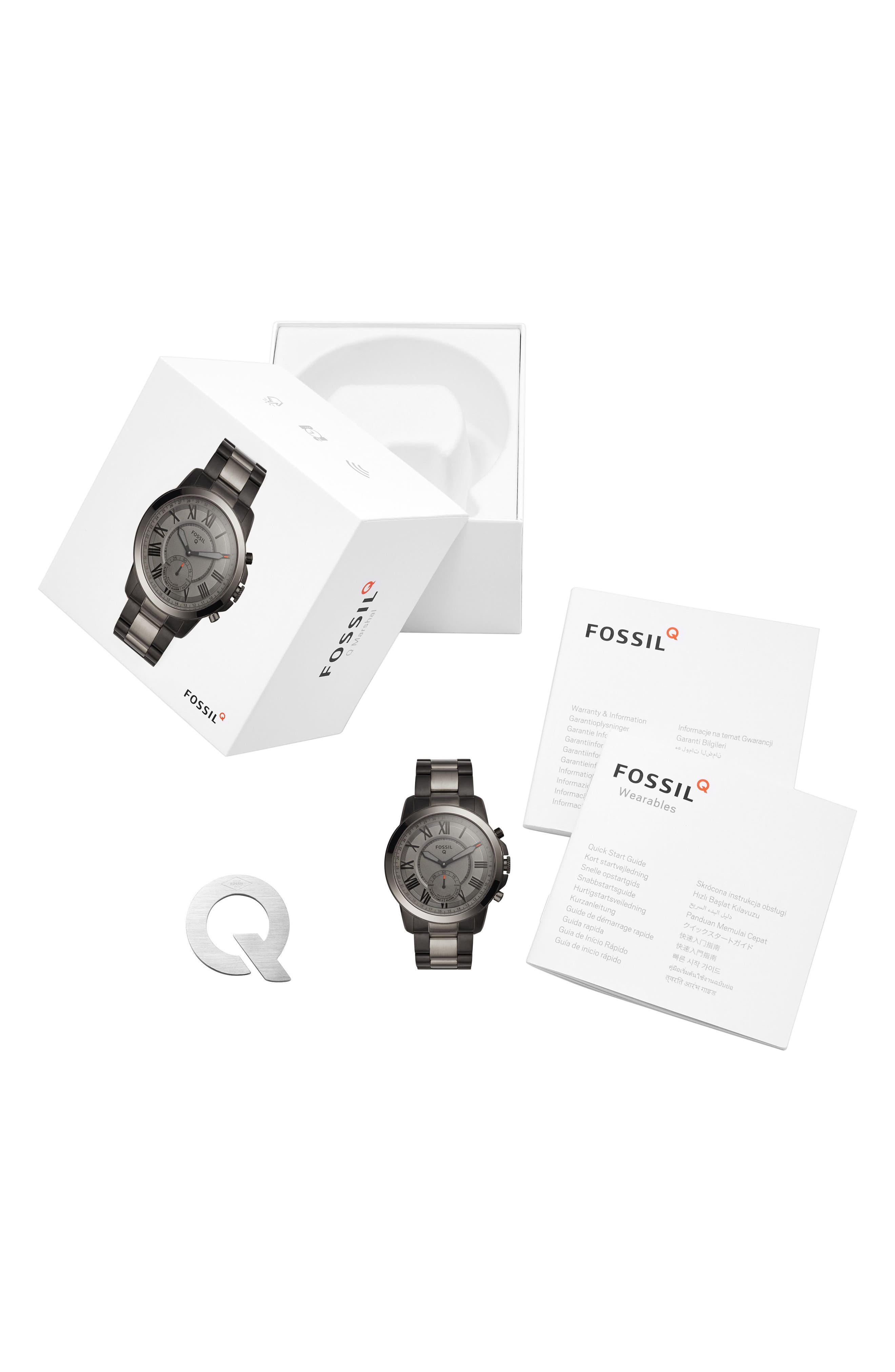 Grant Bracelet Smart Watch, 44mm,                             Alternate thumbnail 10, color,