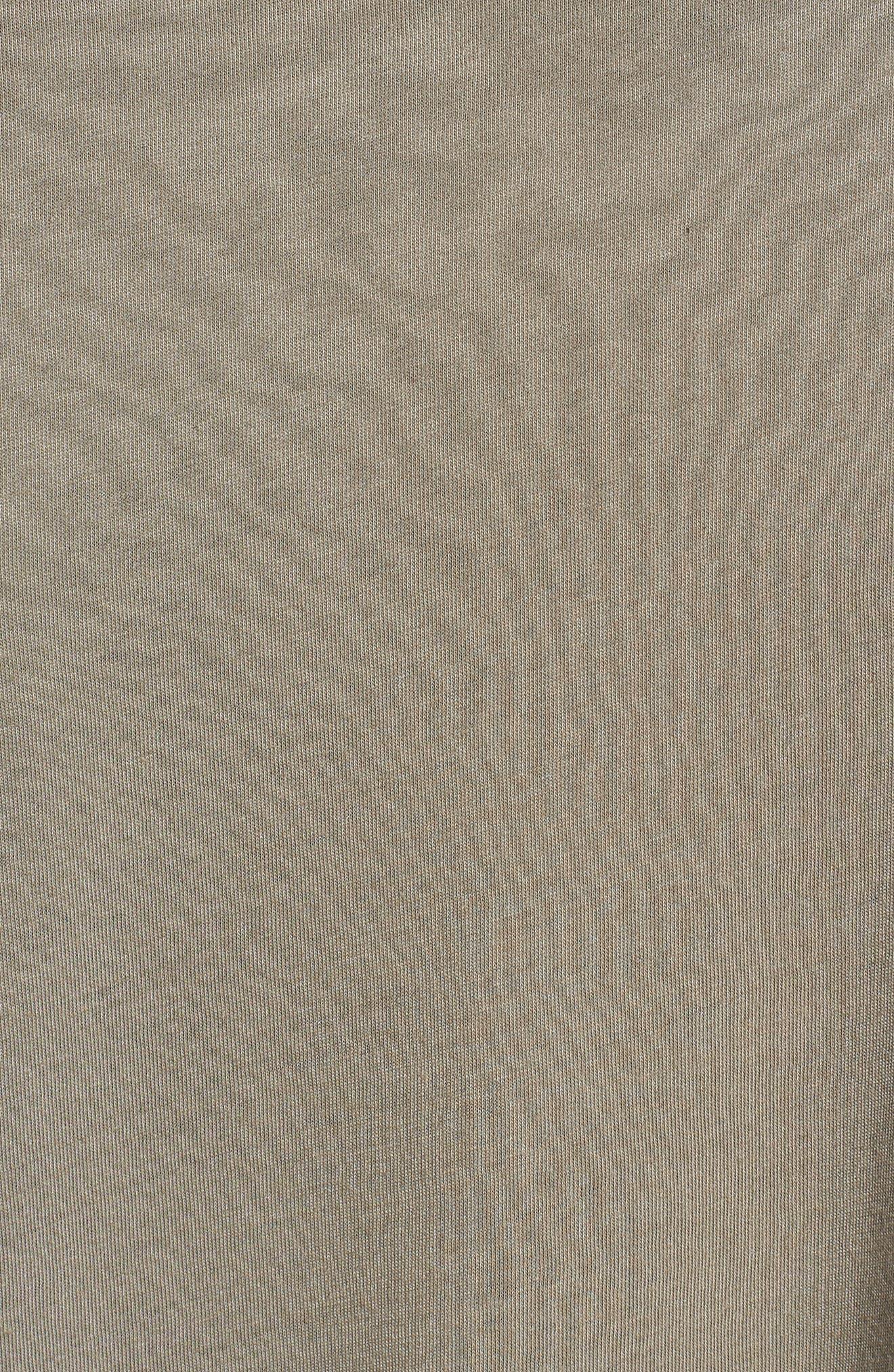 Classic International Crewneck T-Shirt,                             Alternate thumbnail 5, color,                             001