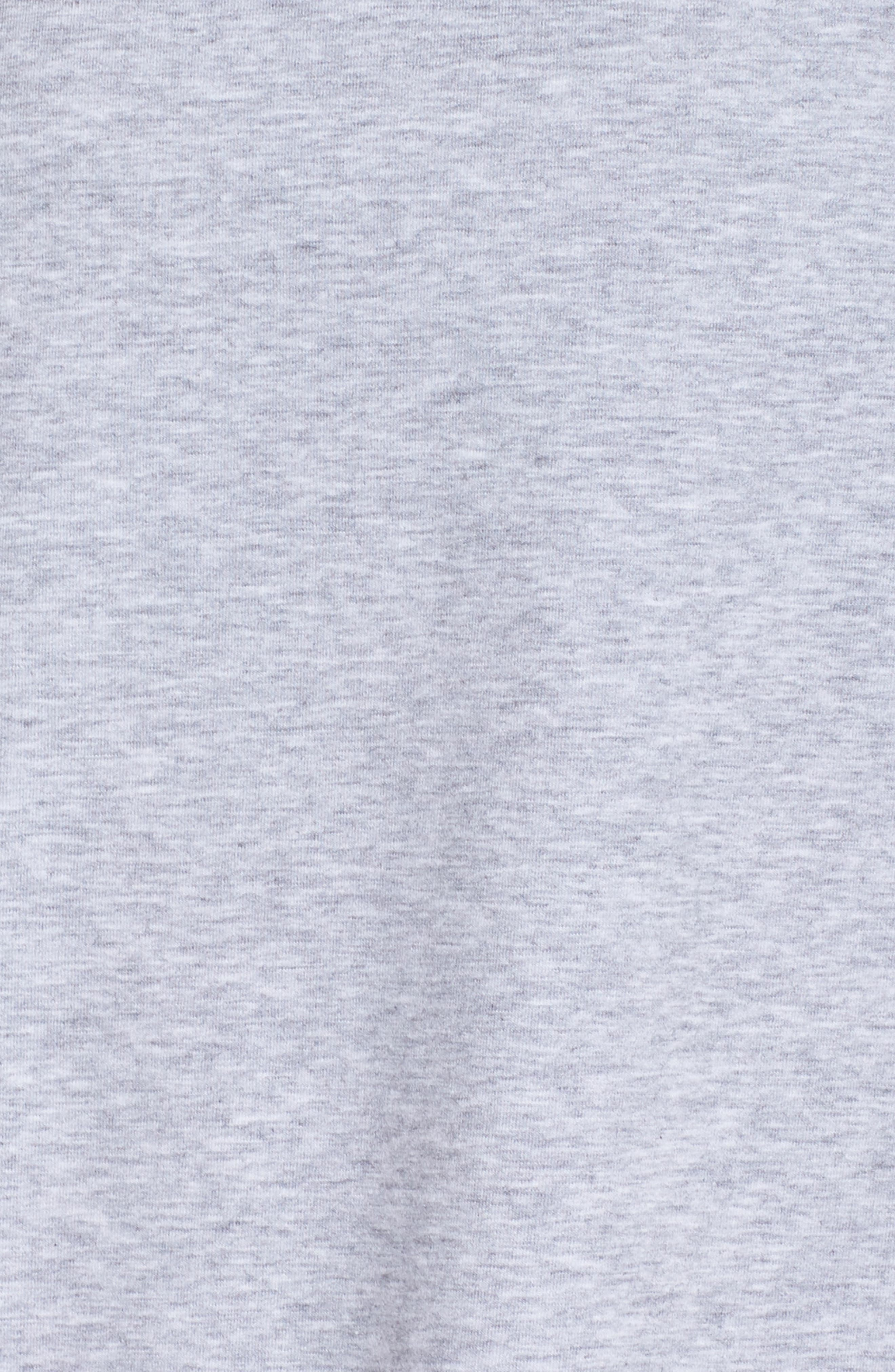 Karly Tee,                             Alternate thumbnail 5, color,                             GREY QUIET HEATHER