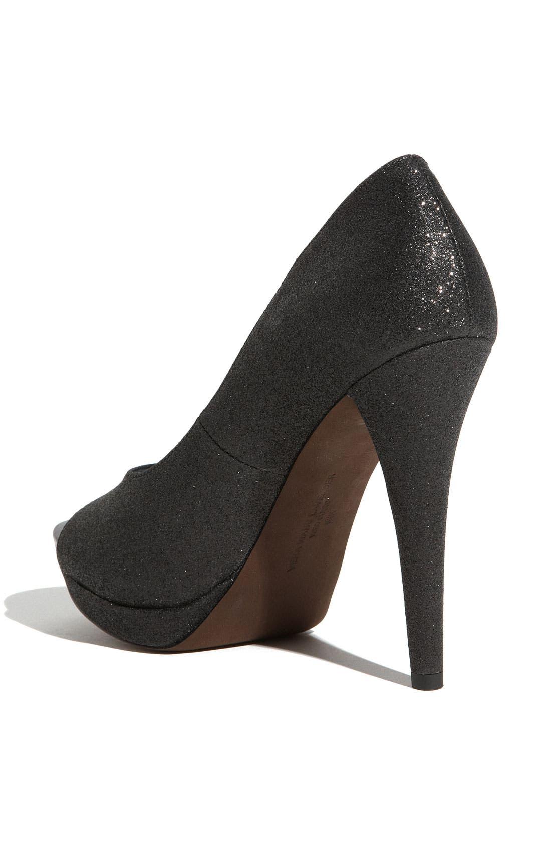 Footwear 'Selima' Peep Toe Pump,                             Alternate thumbnail 8, color,