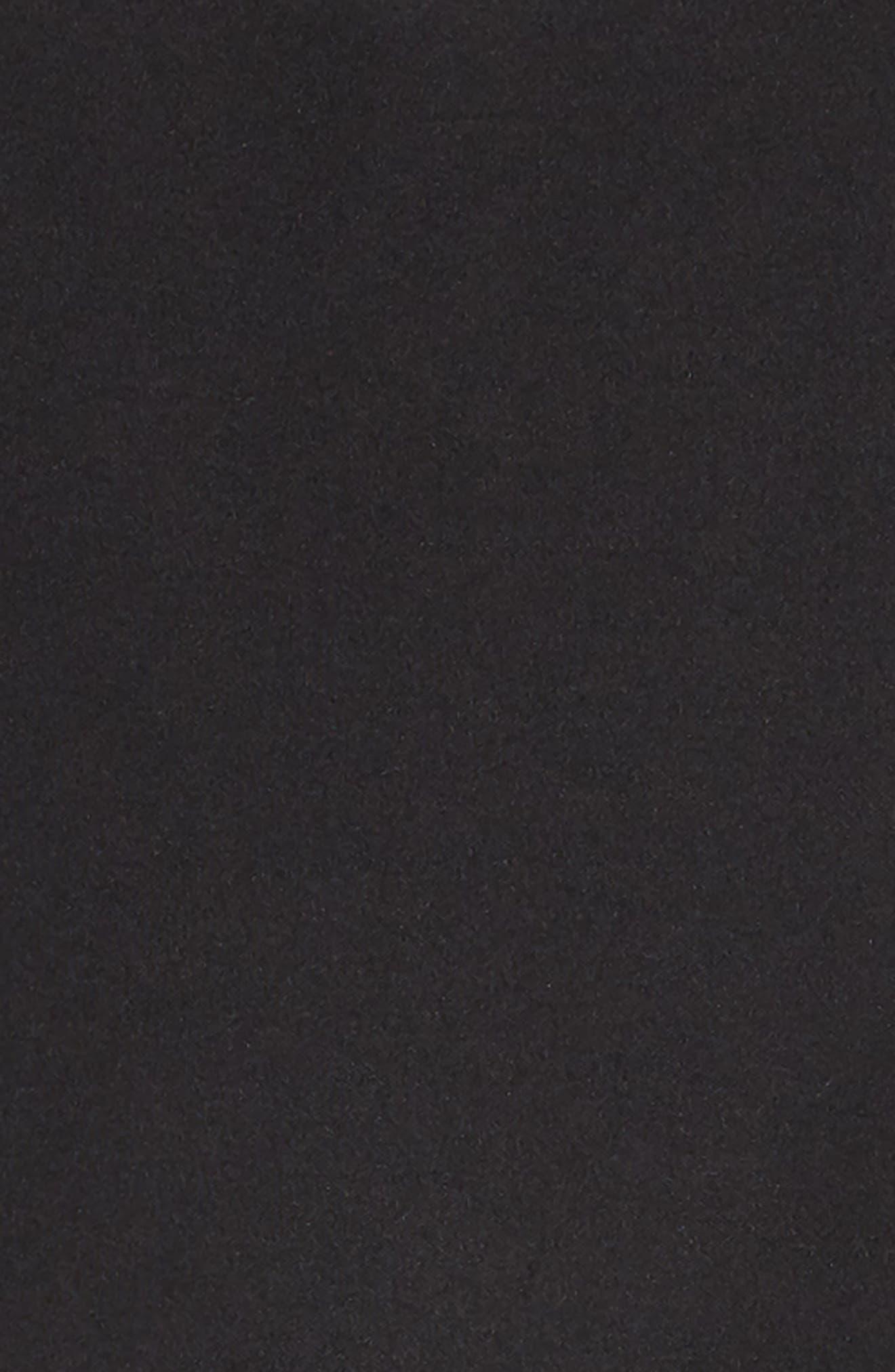 Scuba Tank Dress,                             Alternate thumbnail 3, color,                             BLACK
