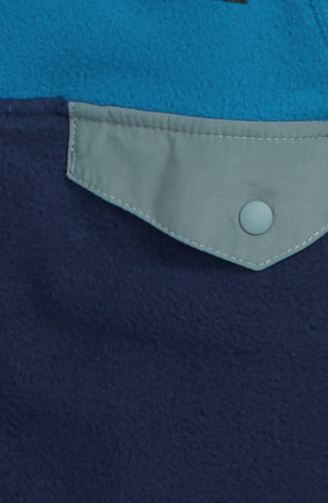 Micro D<sup>®</sup> Snap-T<sup>®</sup> Fleece Jacket,                             Alternate thumbnail 2, color,                             CNY CLASSIC NAVY