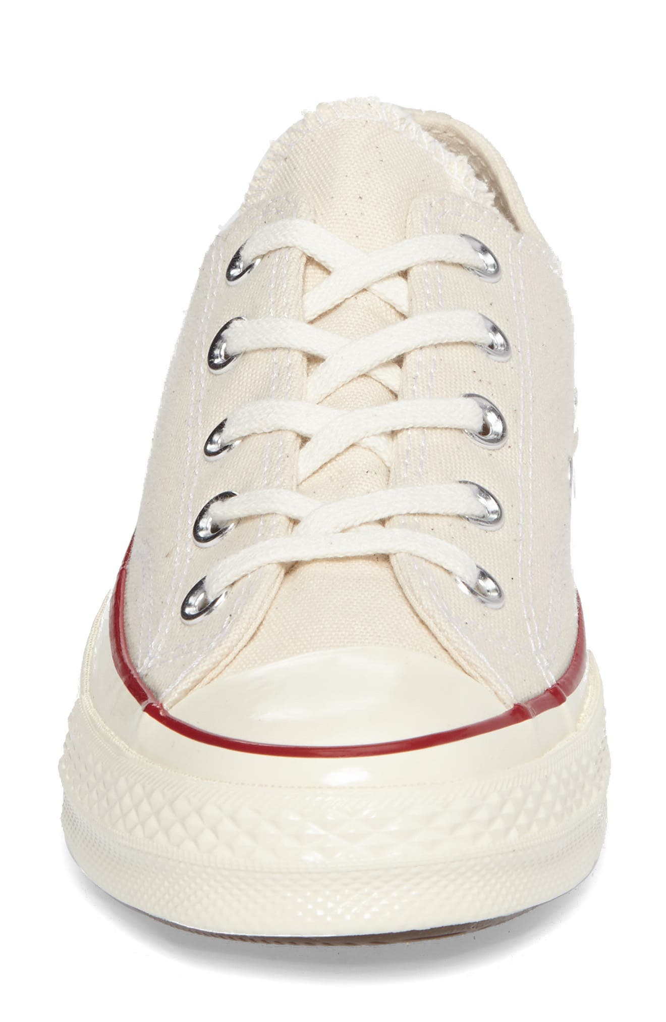 Chuck Taylor<sup>®</sup> All Star<sup>®</sup> Ox Low Top Sneaker,                             Alternate thumbnail 4, color,                             PARCHMENT