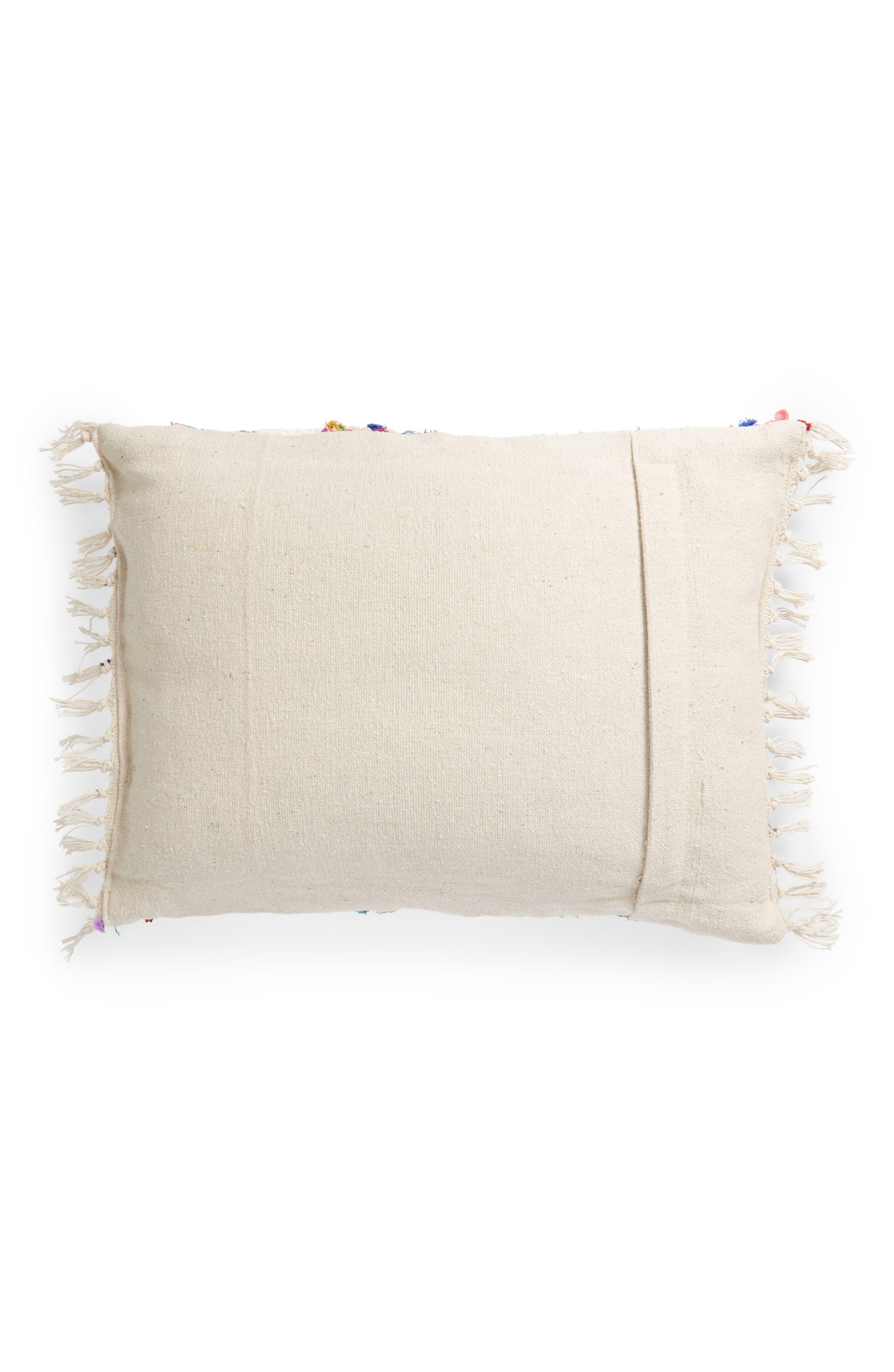 Denim Stripe Accent Pillow,                             Alternate thumbnail 2, color,                             400