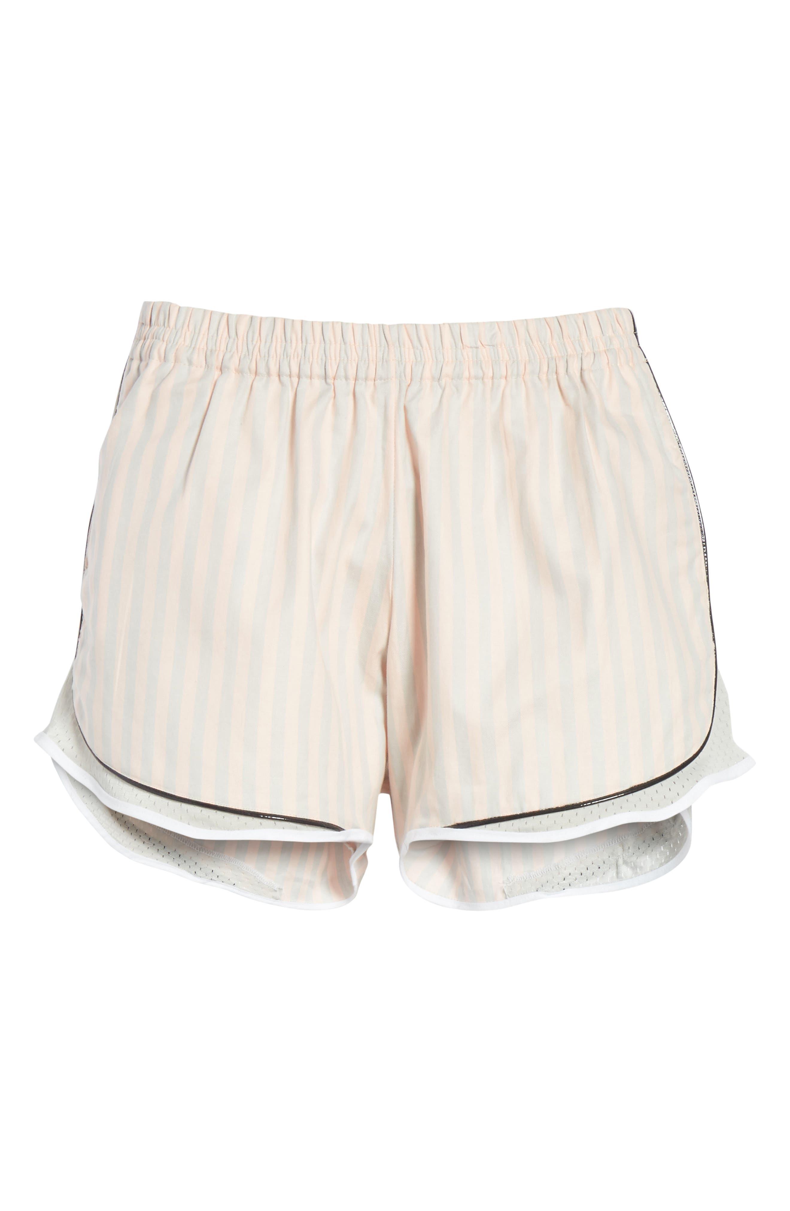 Aina Poplin Shorts,                             Alternate thumbnail 6, color,                             020