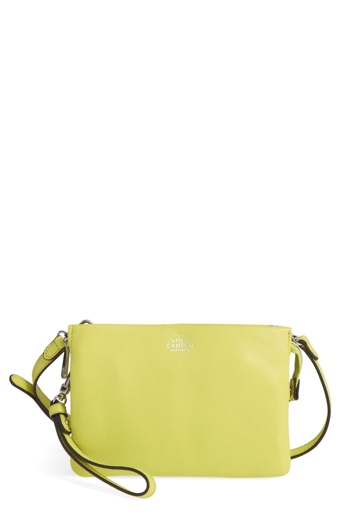 'Cami' Leather Crossbody Bag,                             Main thumbnail 28, color,