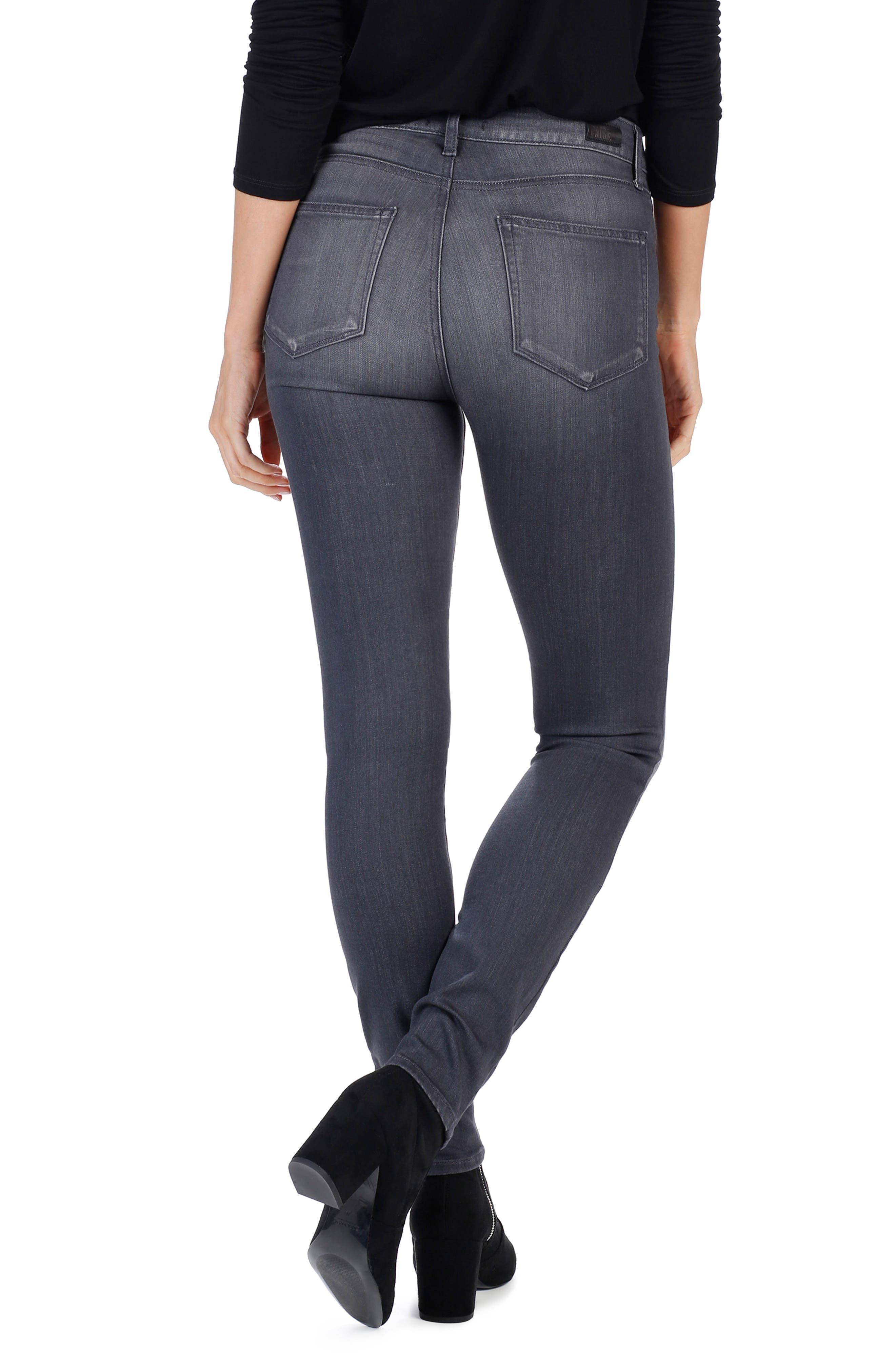 Transcend - Edgemont High Waist Skinny Jeans,                             Alternate thumbnail 3, color,                             020